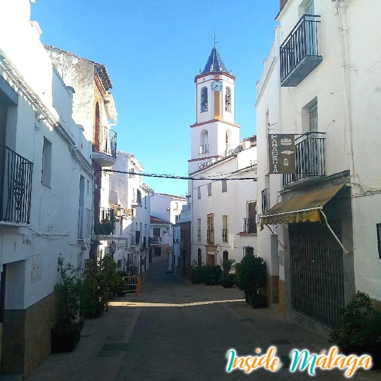 Iglesia parroquial de la Encarnación Yunquera Malaga