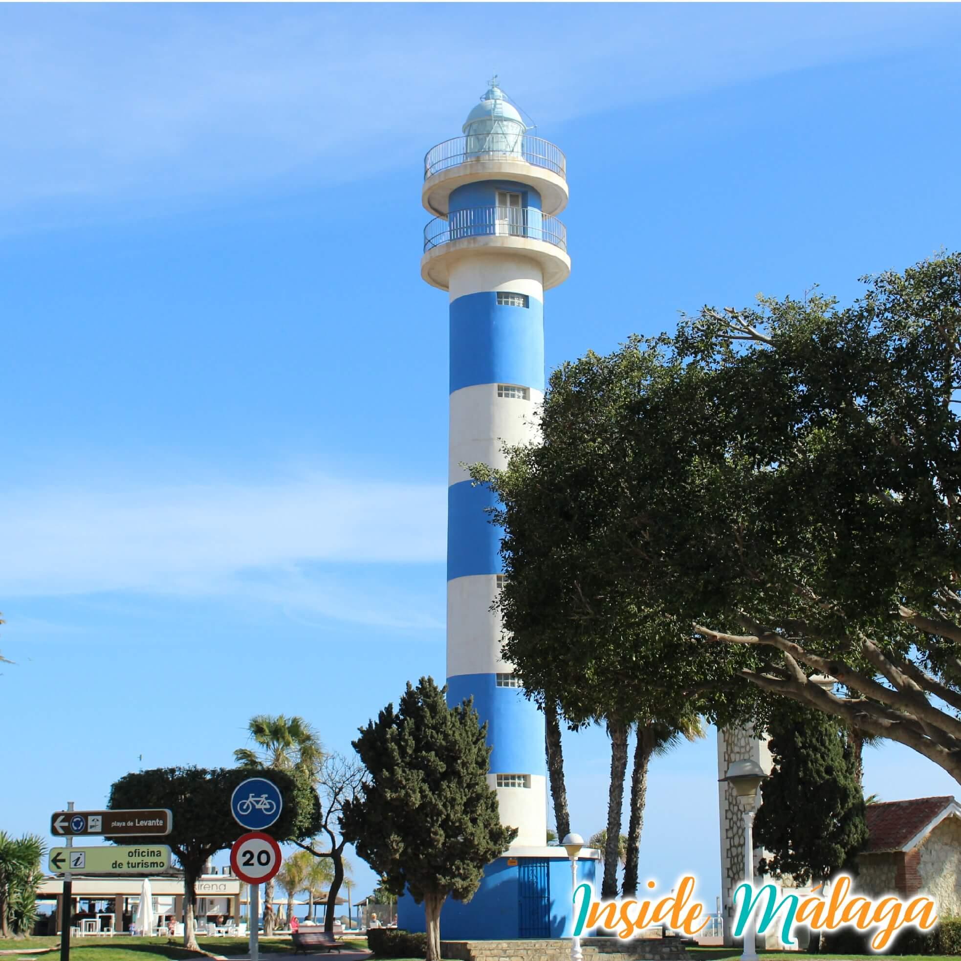 Vuurtoren Torre del Mar Velez Malaga