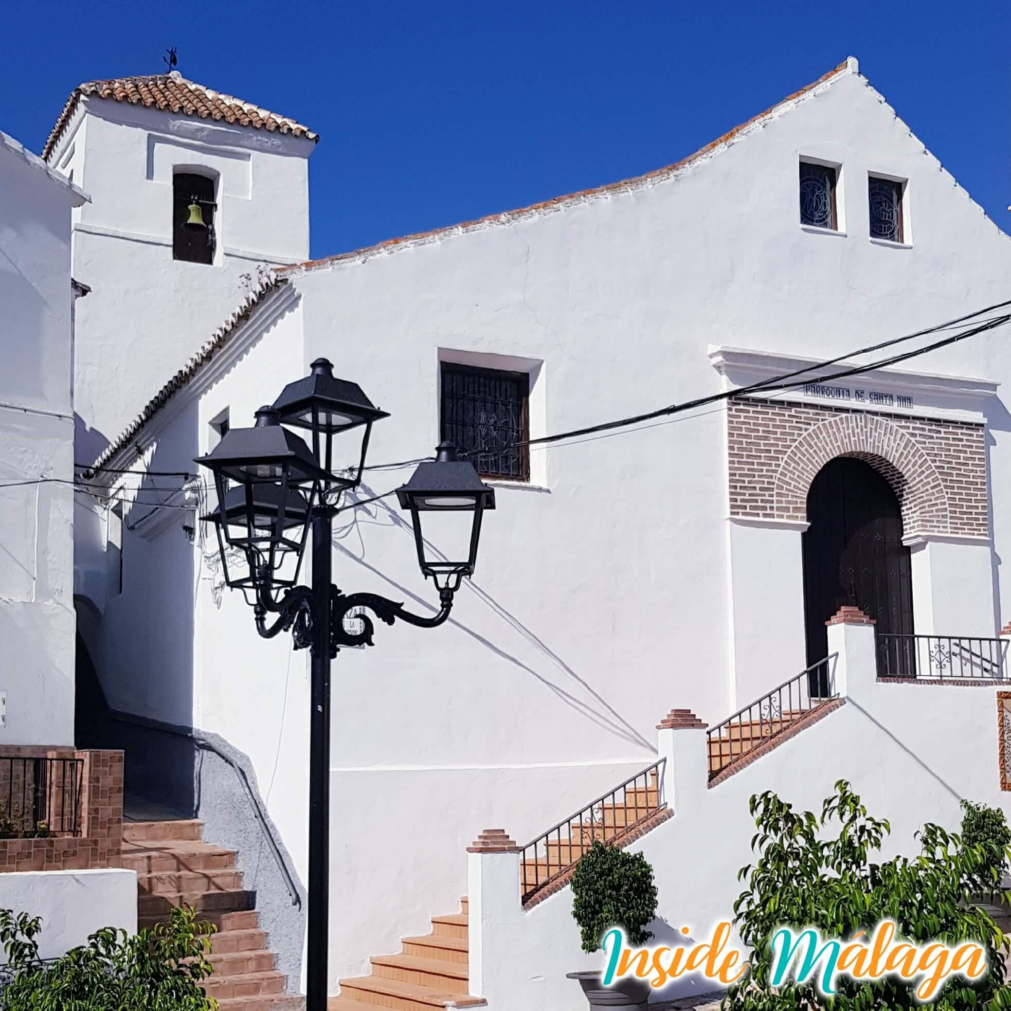 Church Santa Ana Totalan Malaga