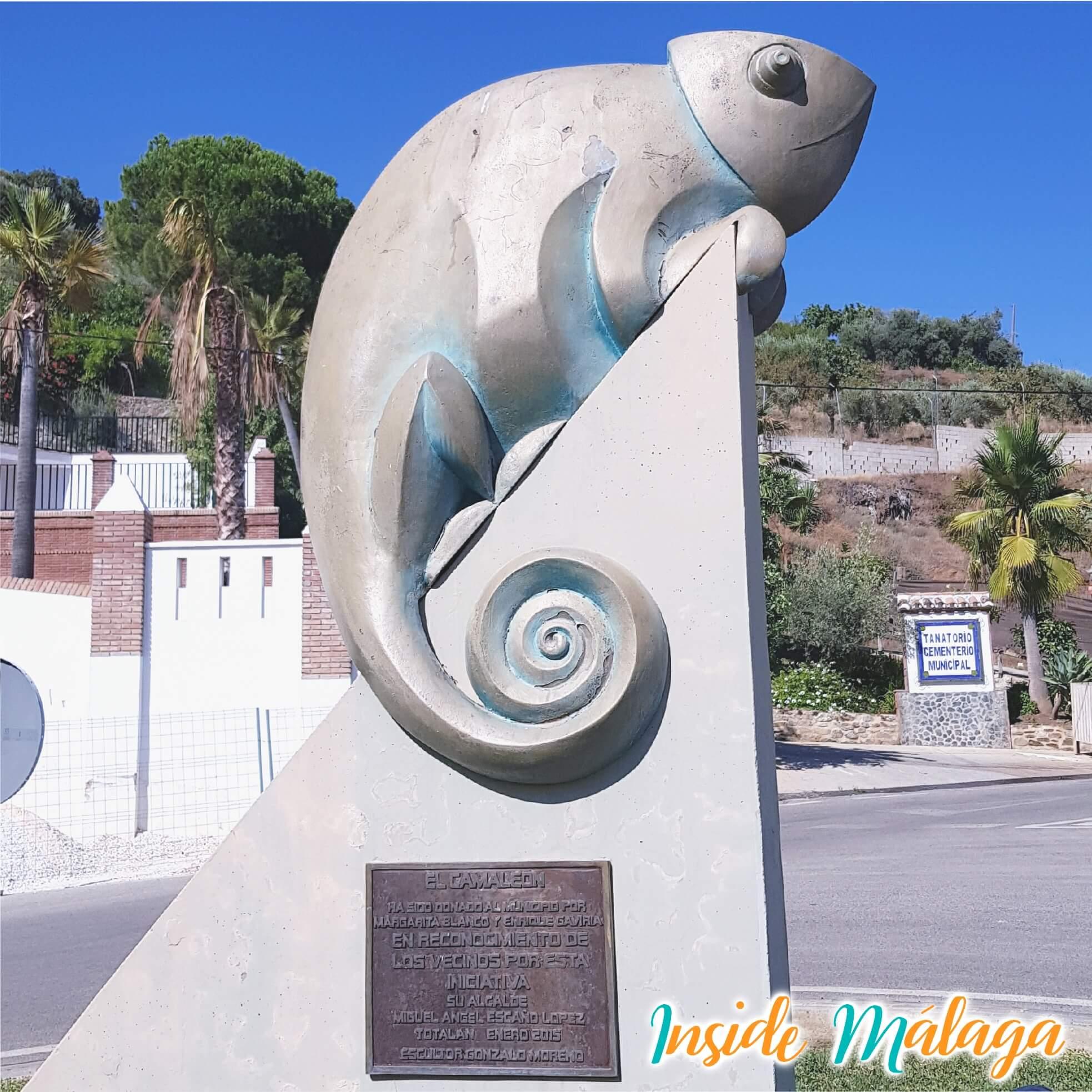 El Camaleon Monumento Totalan Malaga
