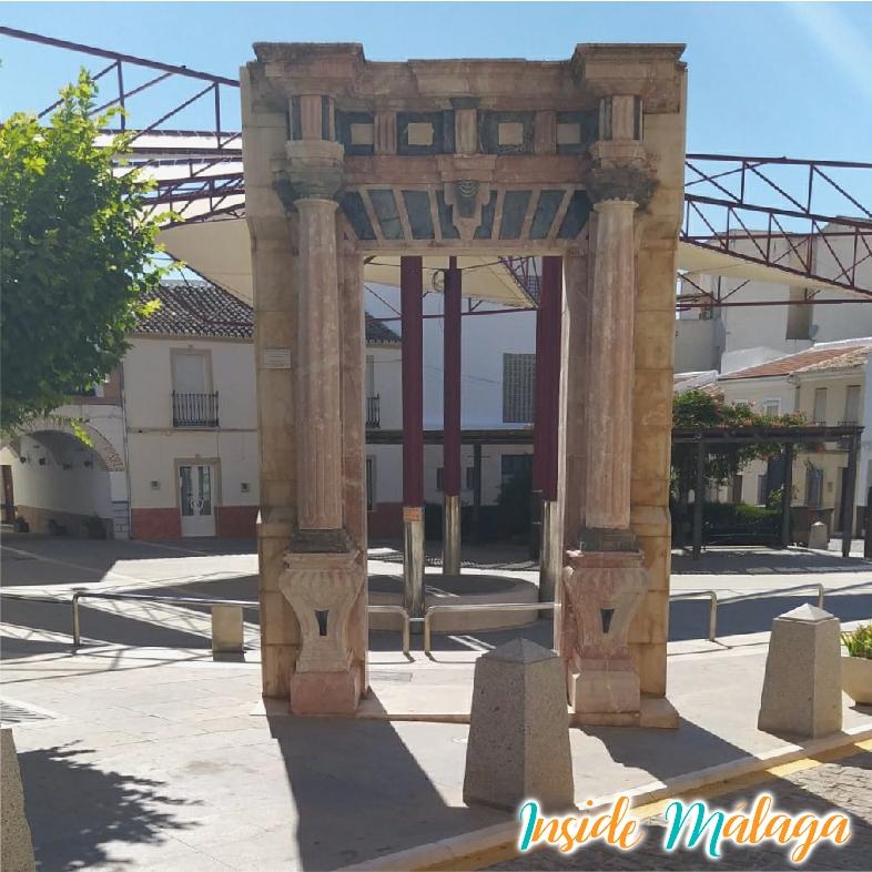Portico Condess Eugenia de Montijo Teba Malaga
