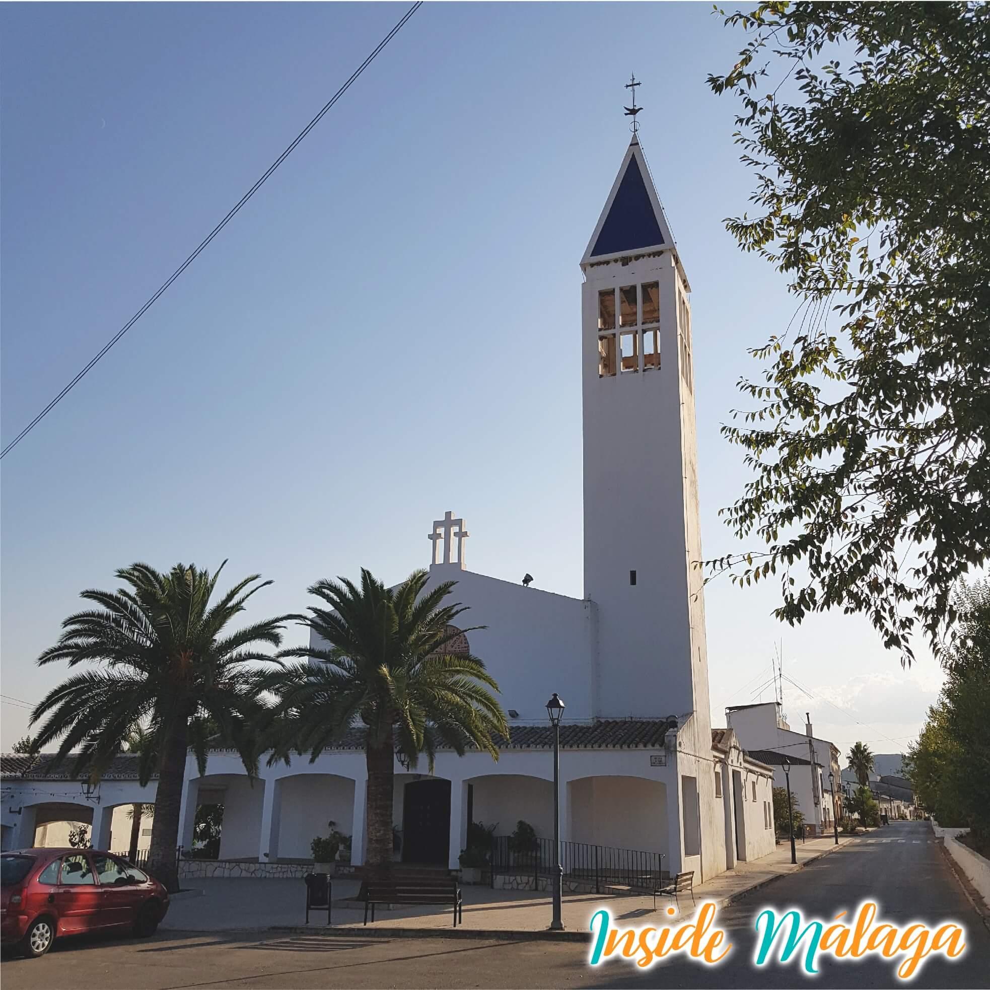 Iglesia Navahermosa Sierra de Yeguas Malaga