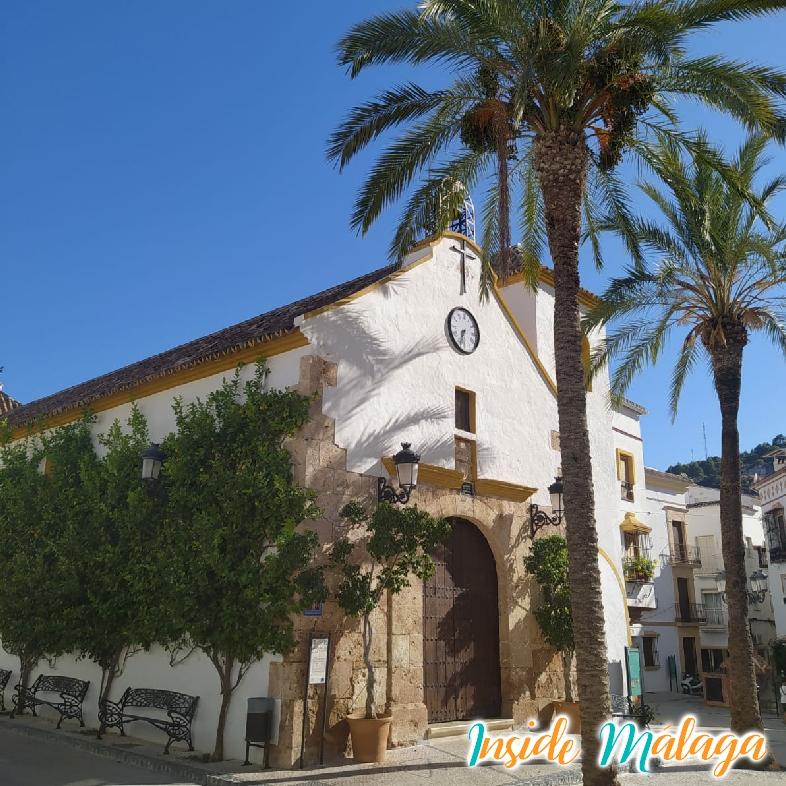 La iglesia de Nuestra Señora De la Encarnación Ojen Malaga