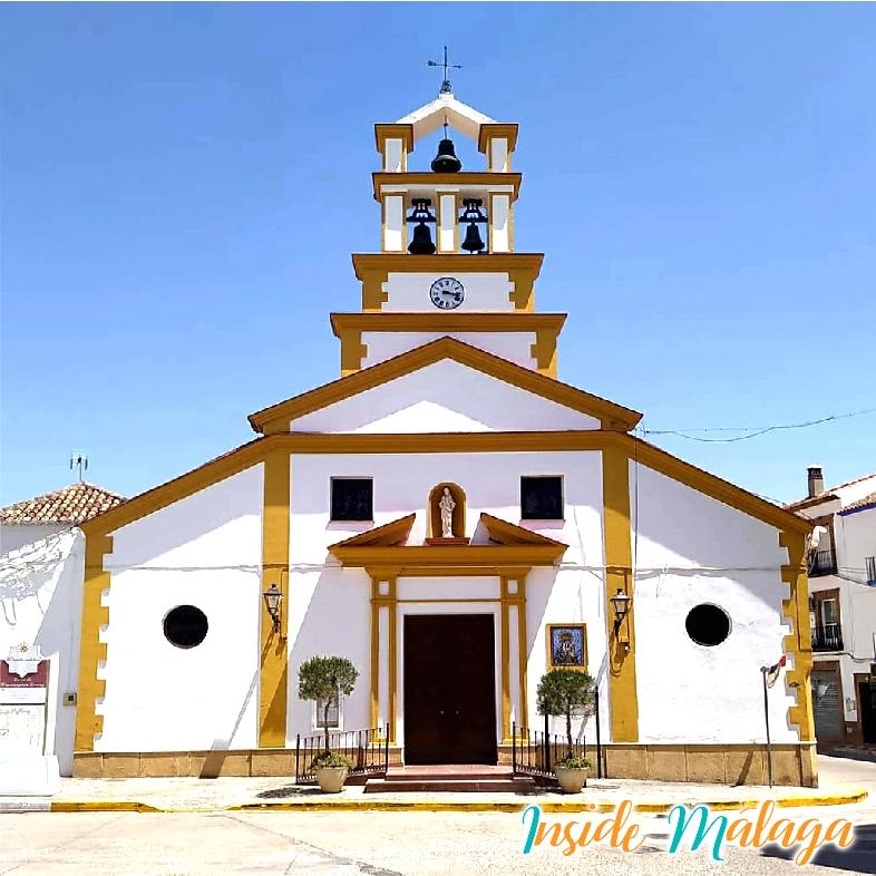 Church Nuestra Señora de la Oliva Mollina Malaga