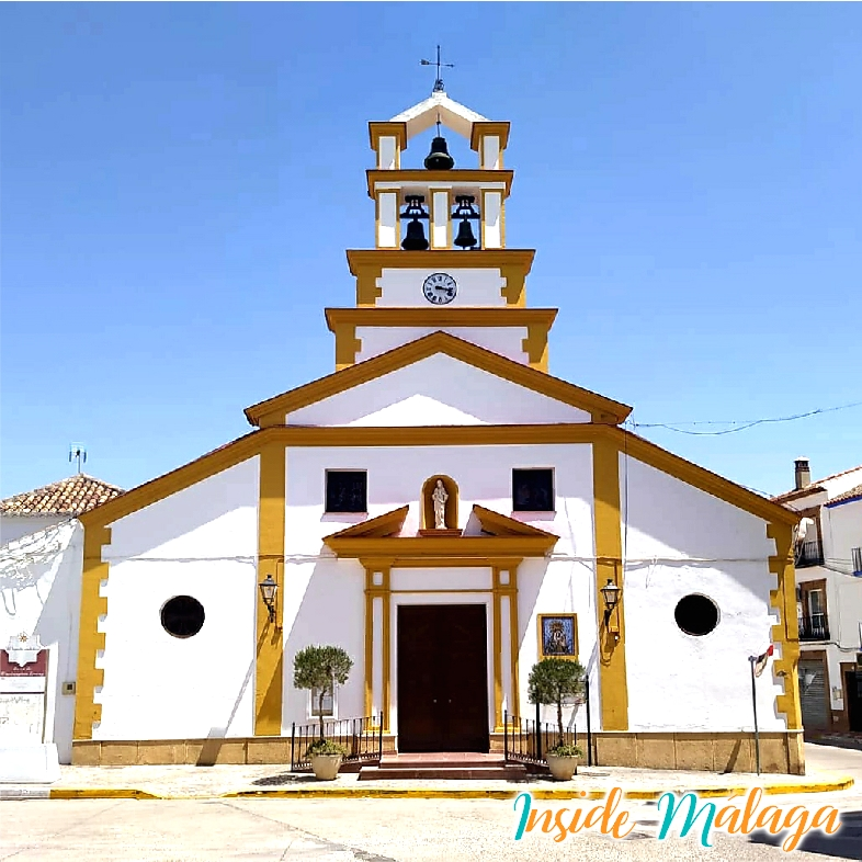 Iglesia Nuestra Señora de la Oliva Mollina Malaga