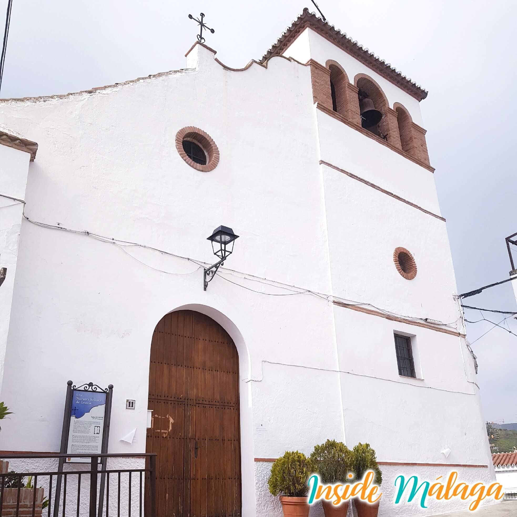 Kerk Nuestra Señora de Gracia Moclinejo Malaga