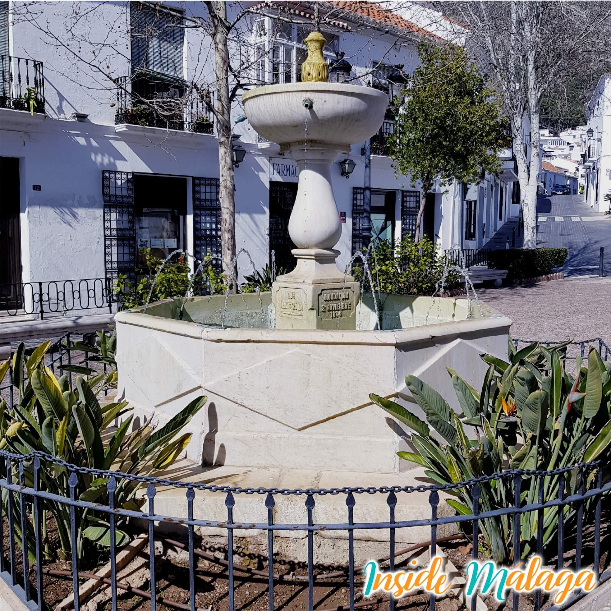 Fountain Plaza de Constitucion Mijas