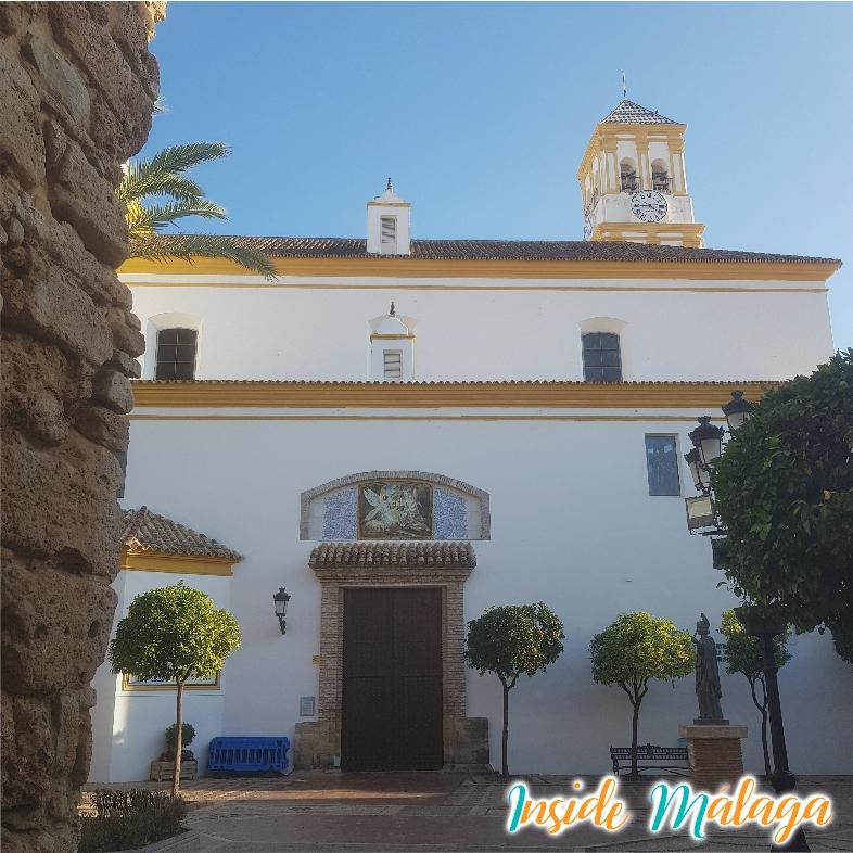 La iglesia de Santa María de la Encarnación Marbella Malaga