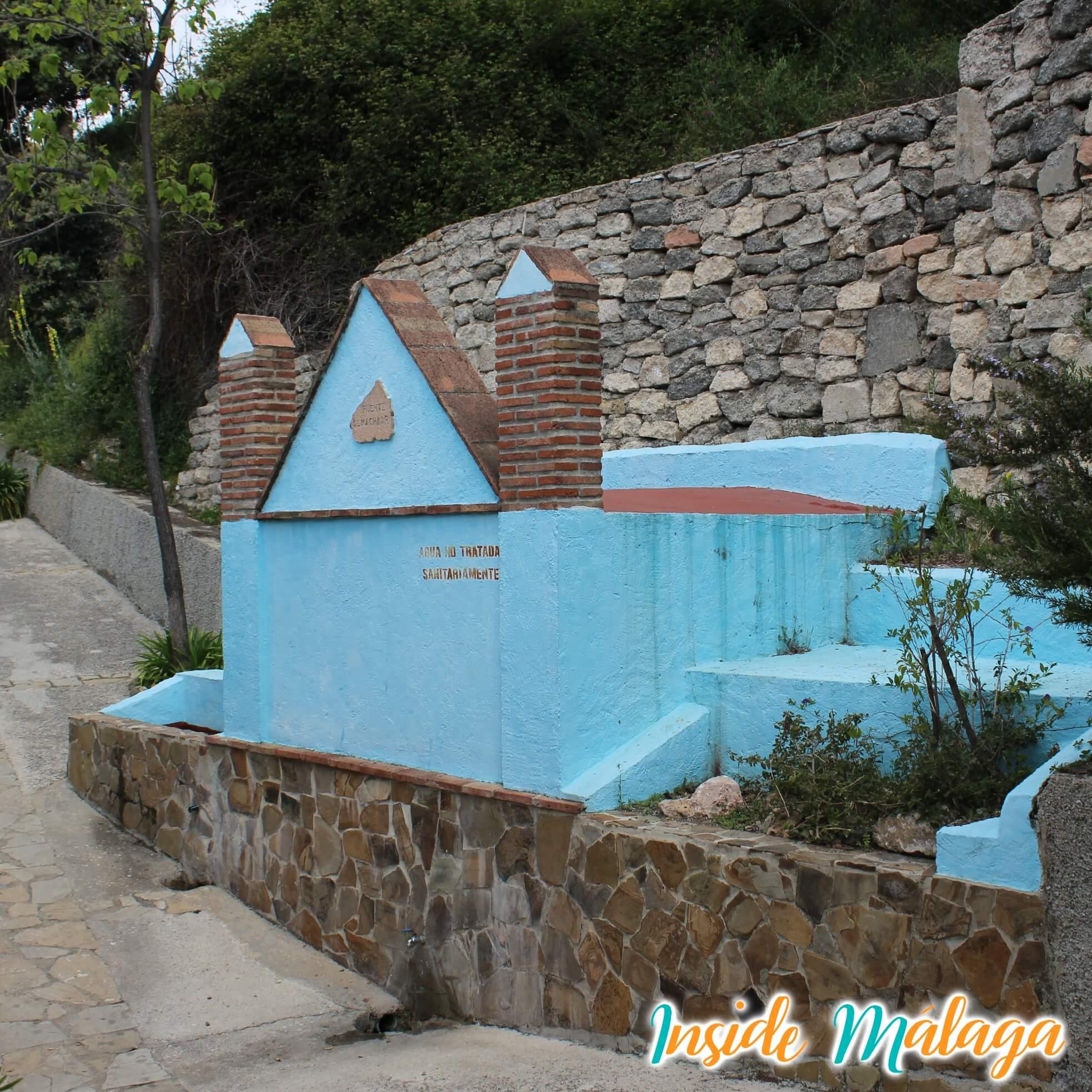 Fountain Almachar Júzcar