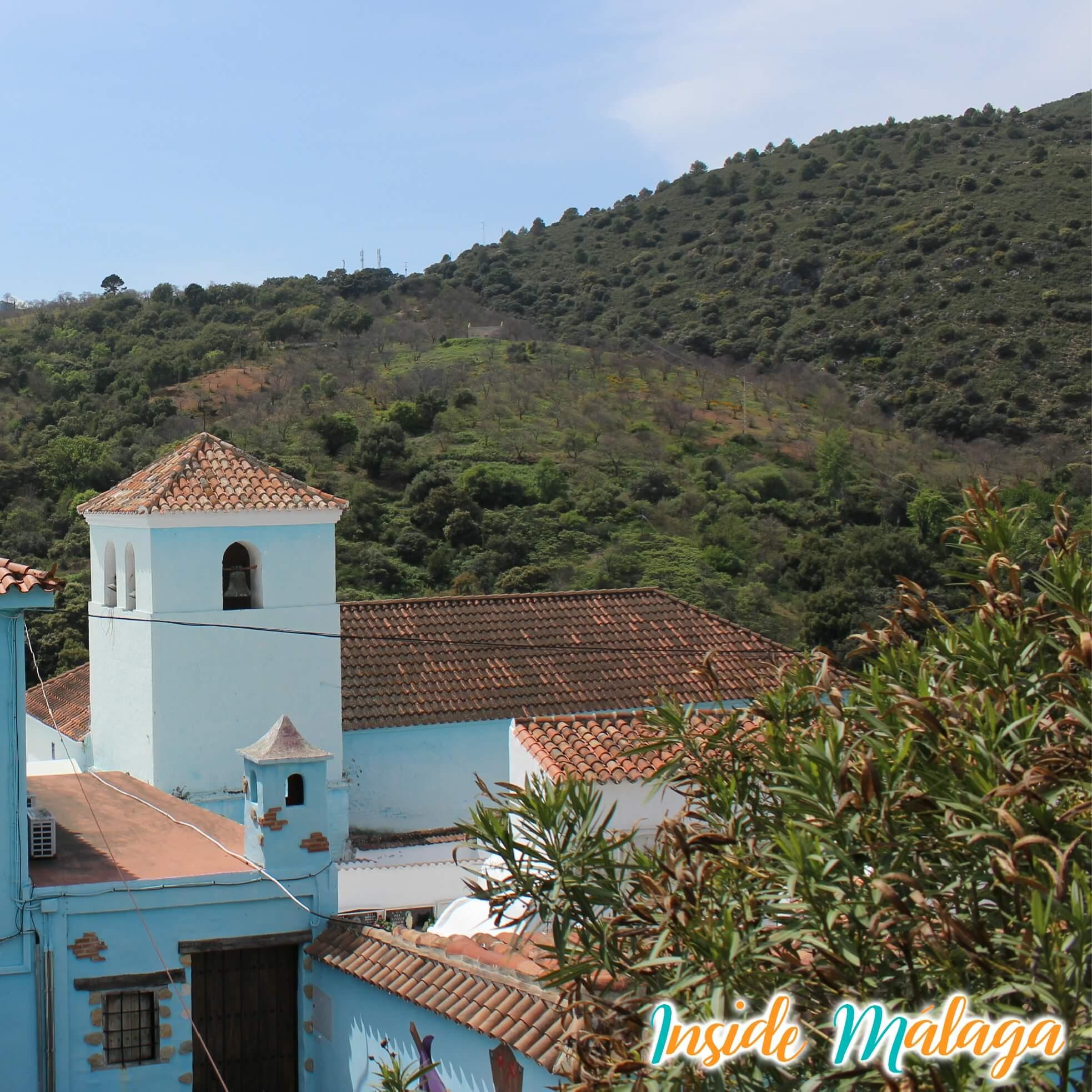 Iglesia Santa Catalina Júzcar