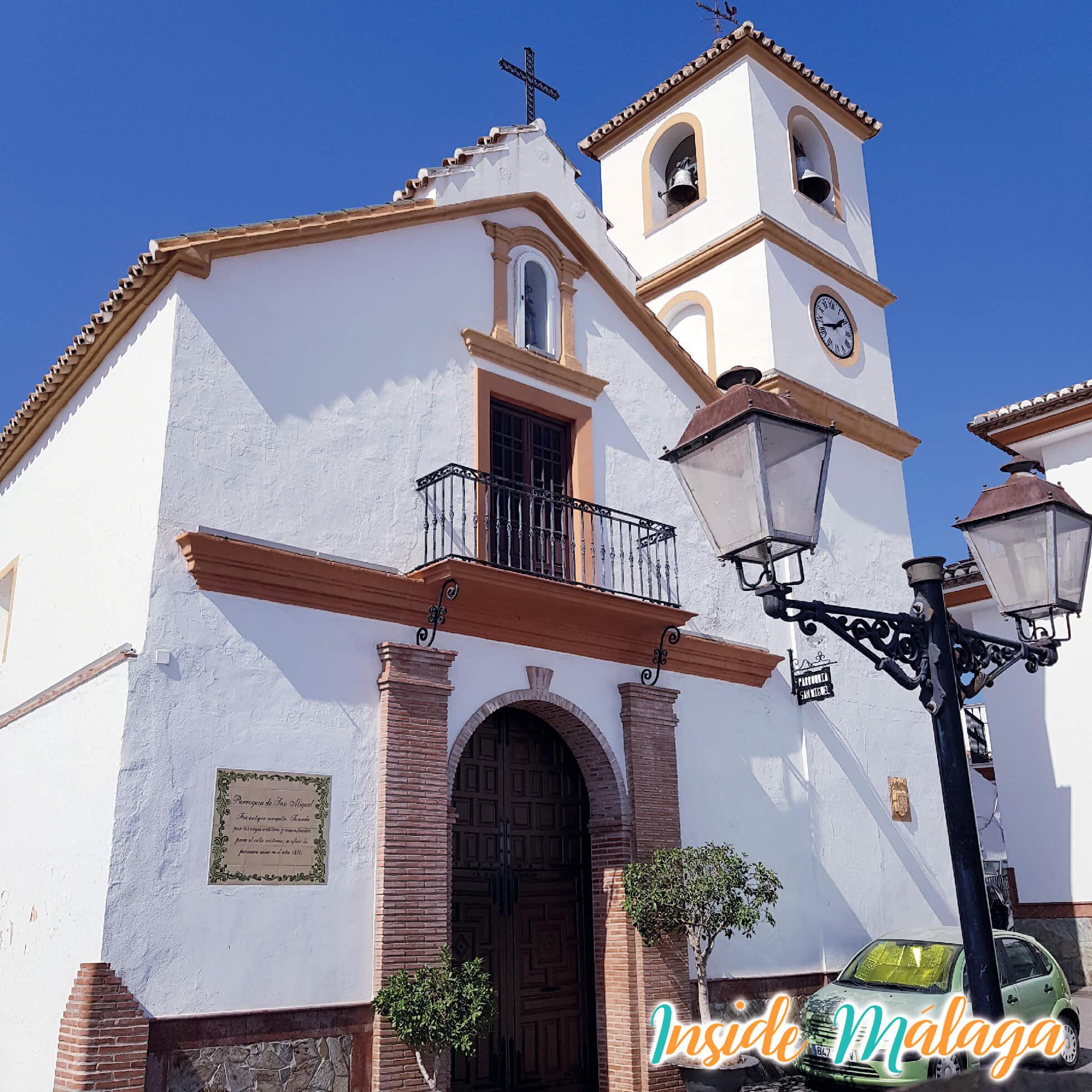 Iglesia de San Miguel de Arcángel Guaro Malaga