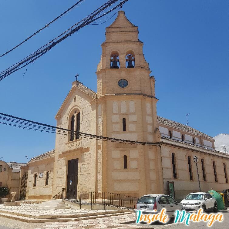 Eglise Nuestra Señora de las Virtudes Fuente De Piedra