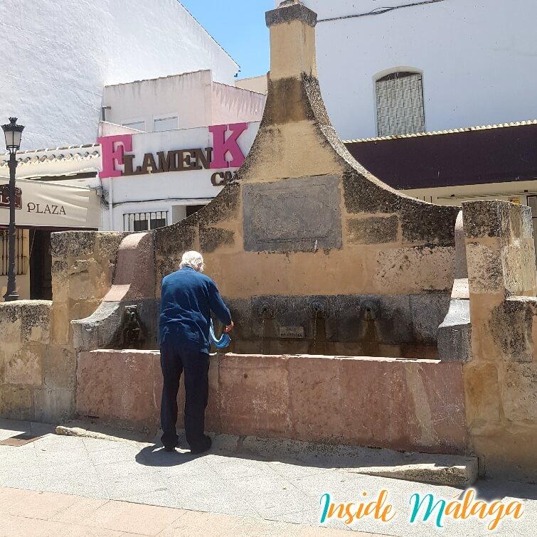 Fountaine Fuente de Piedra