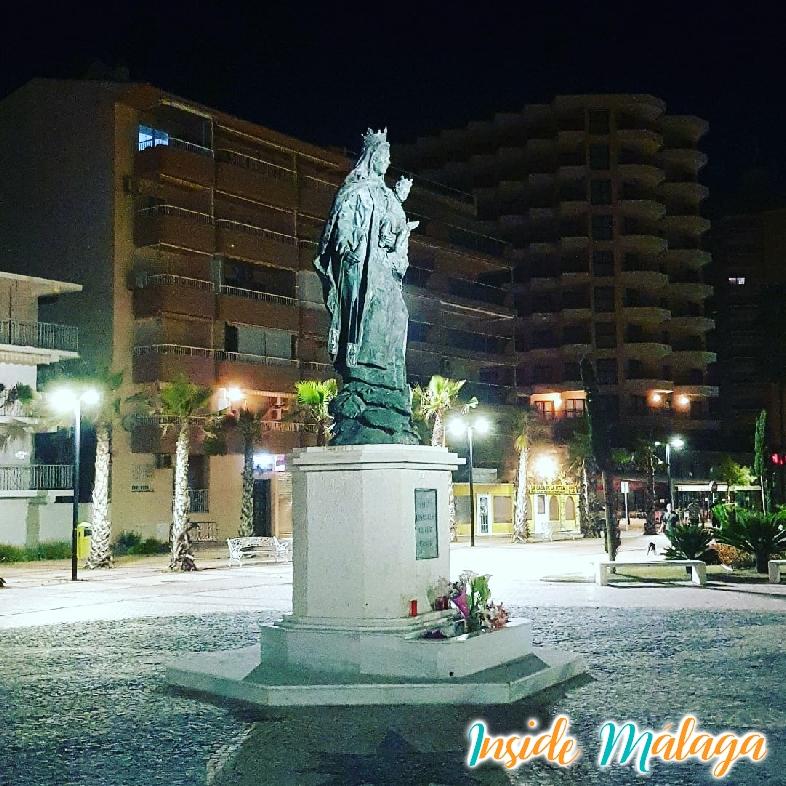 Monument Virgen del Carmen Fuengirola Malaga