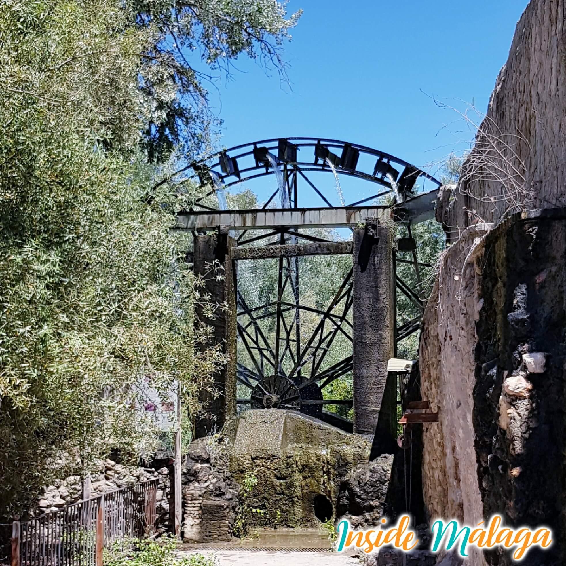 Noria de la Aceña Cuevas de San Marcos Malaga