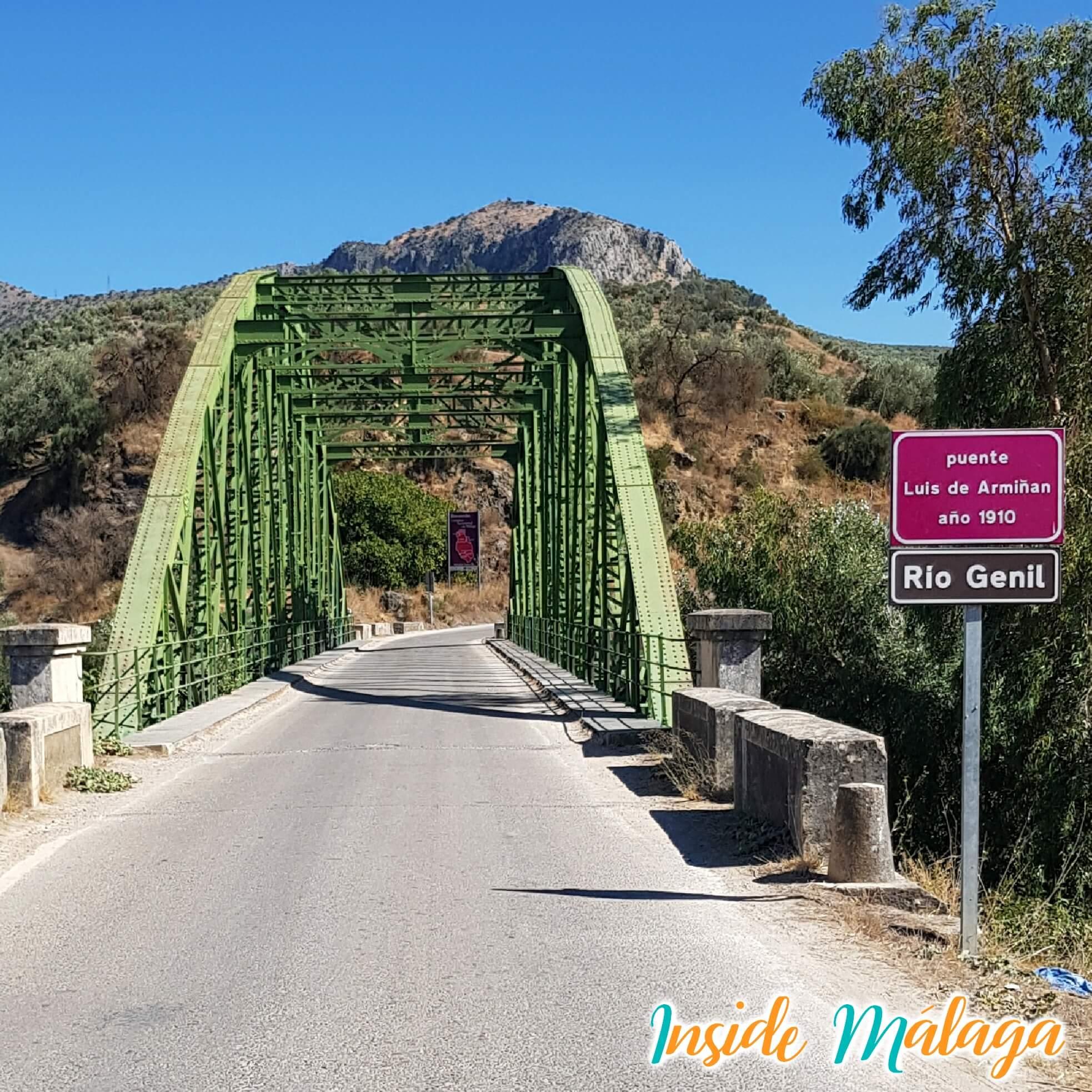 Puente Luis Armiñan Cuevas de San Marcos Malaga