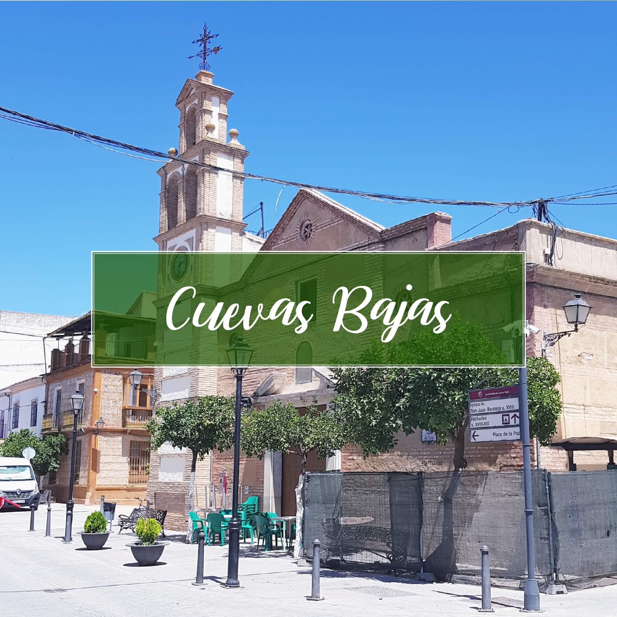 Cuevas Bajas Dorp Malaga