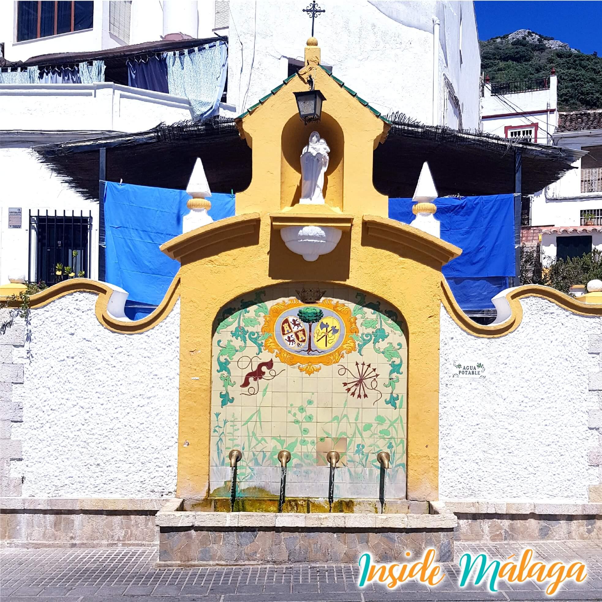 Fountain of the 4 pipes Cortes de la Frontera