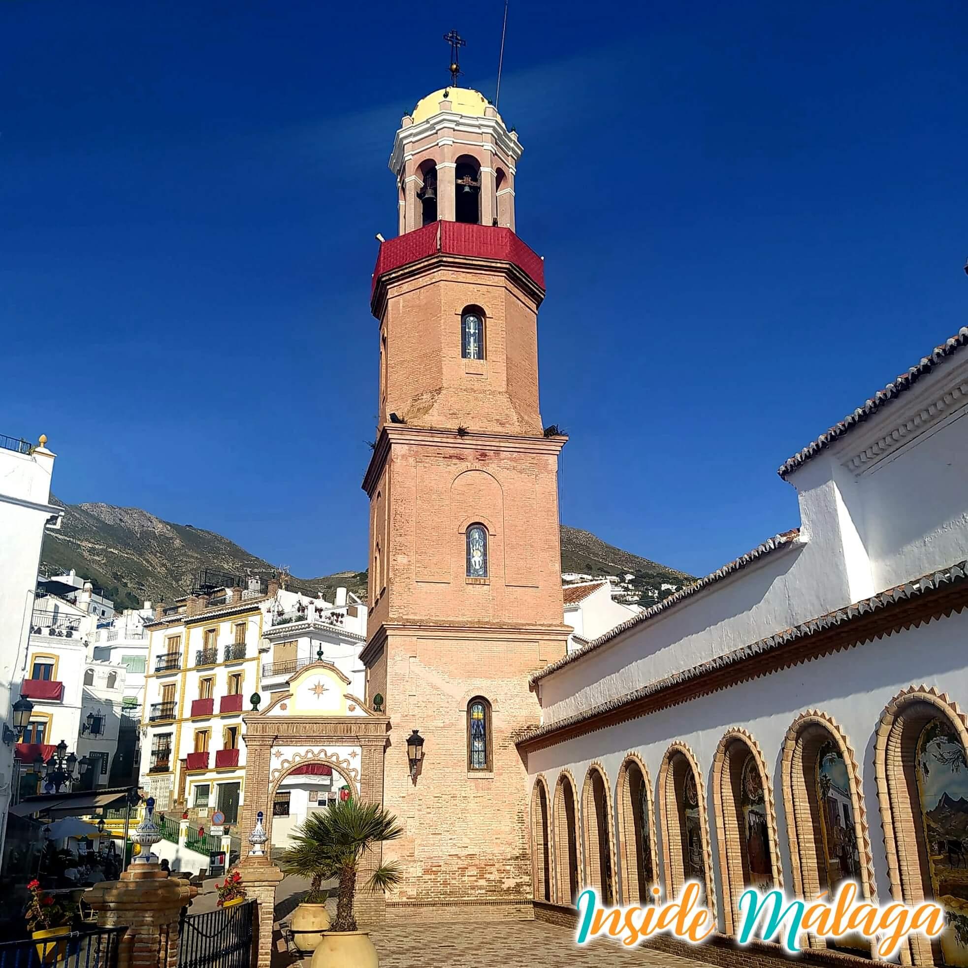 Church Nuestra Señora de la Asuncion Competa Malaga