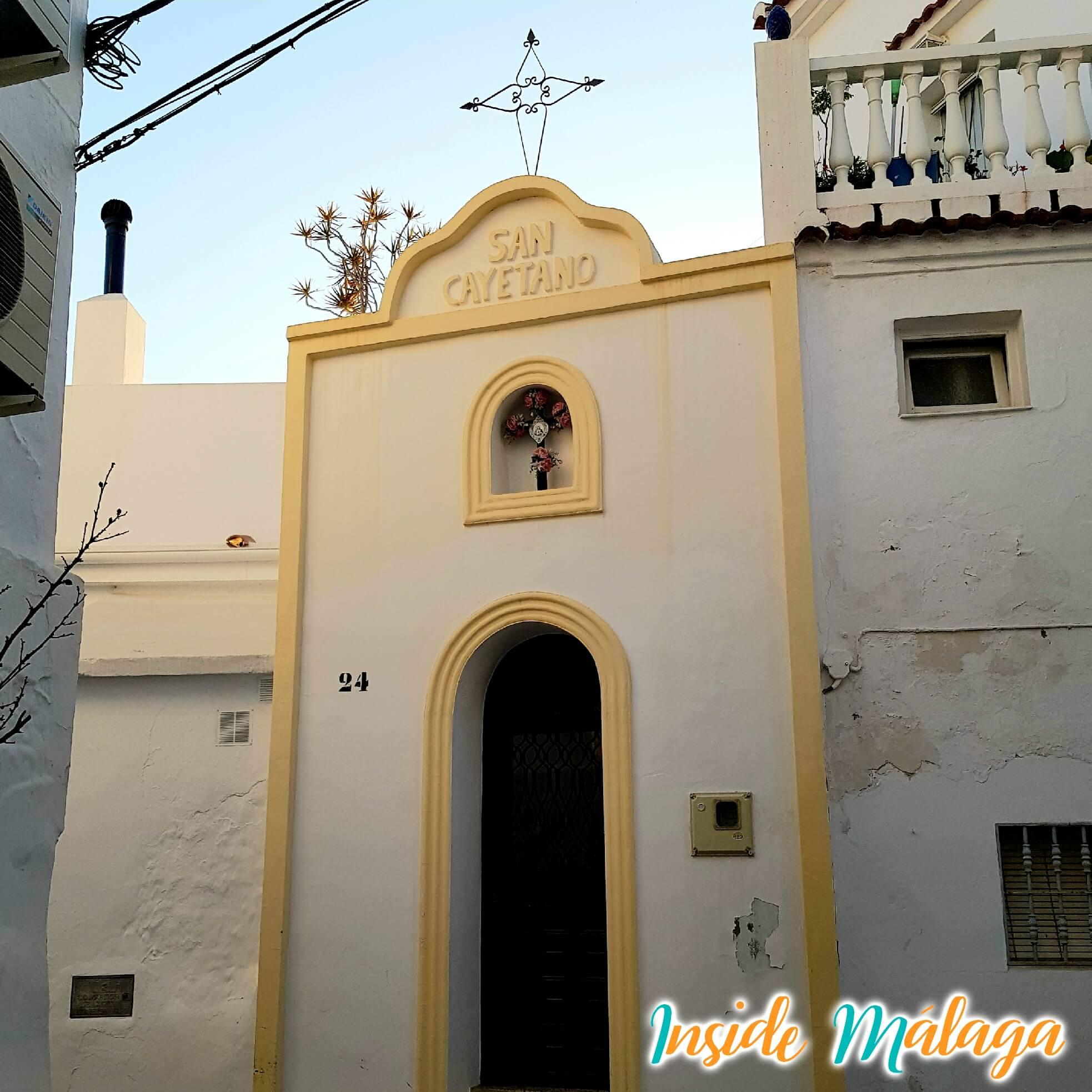 Hermitage of San Cayetano Competa Malaga