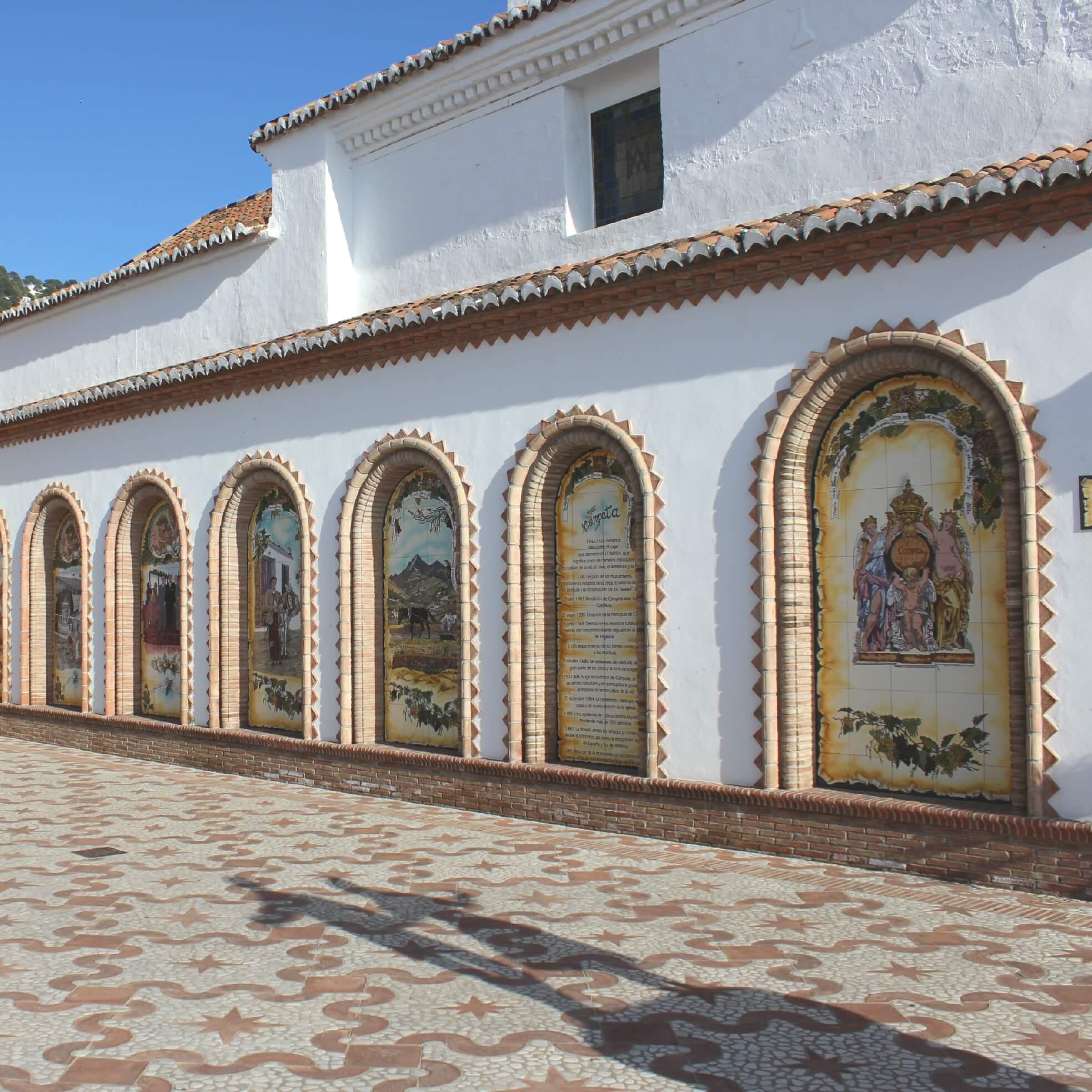 Tradition Square Competa Malaga