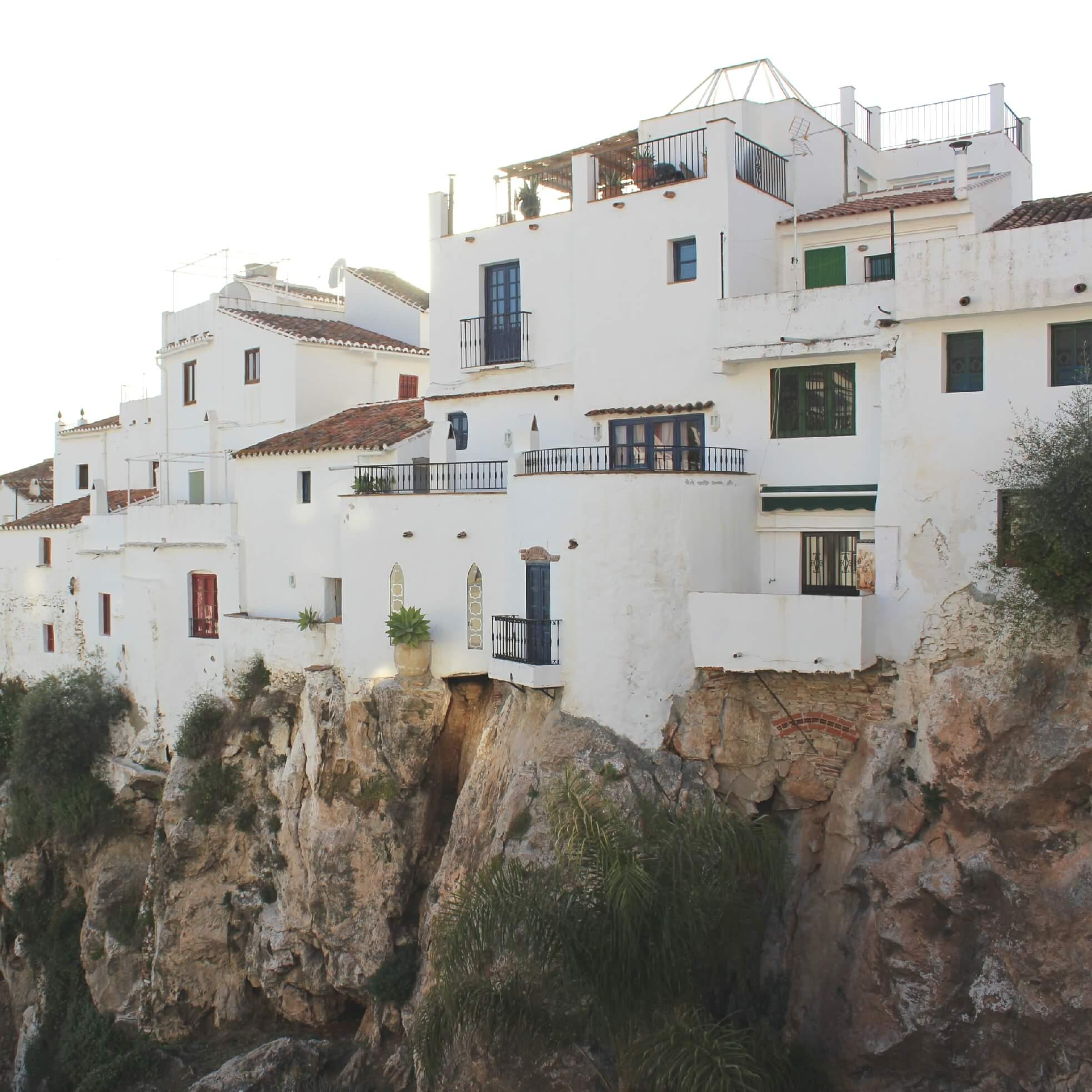 Hangende Huizen Competa Malaga