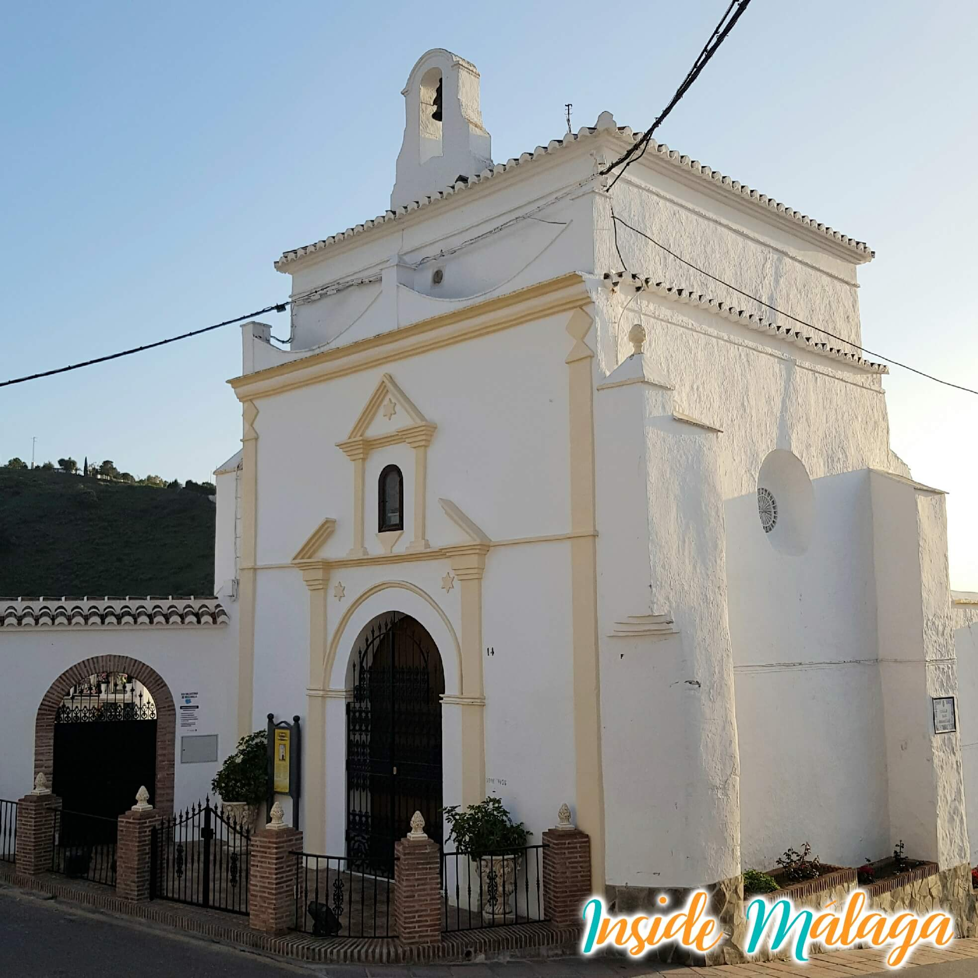 Hermitage van San Sebastian Competa Malaga