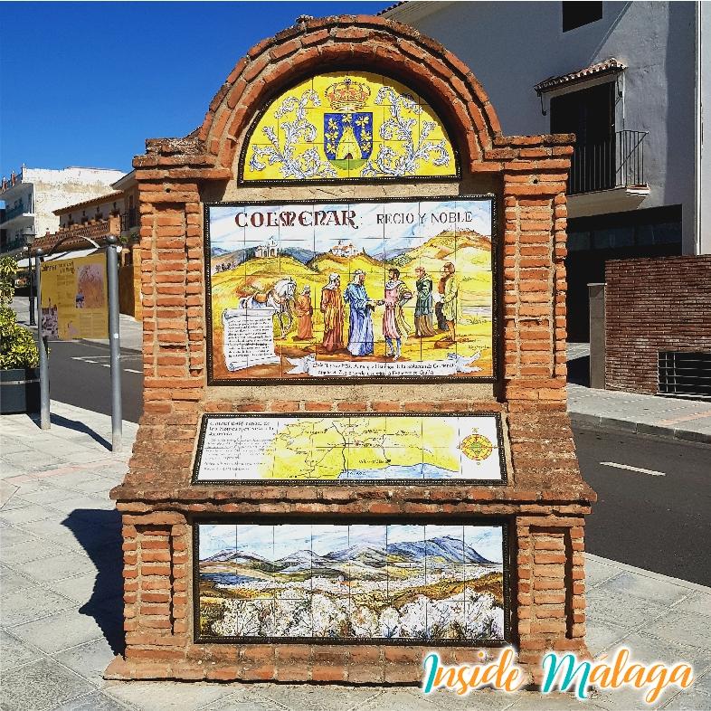 Puerta de la Cruz Entrada Colmenar Malaga
