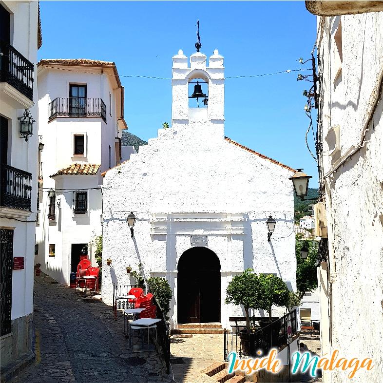 Ermita de San Sebastian Casares Malaga