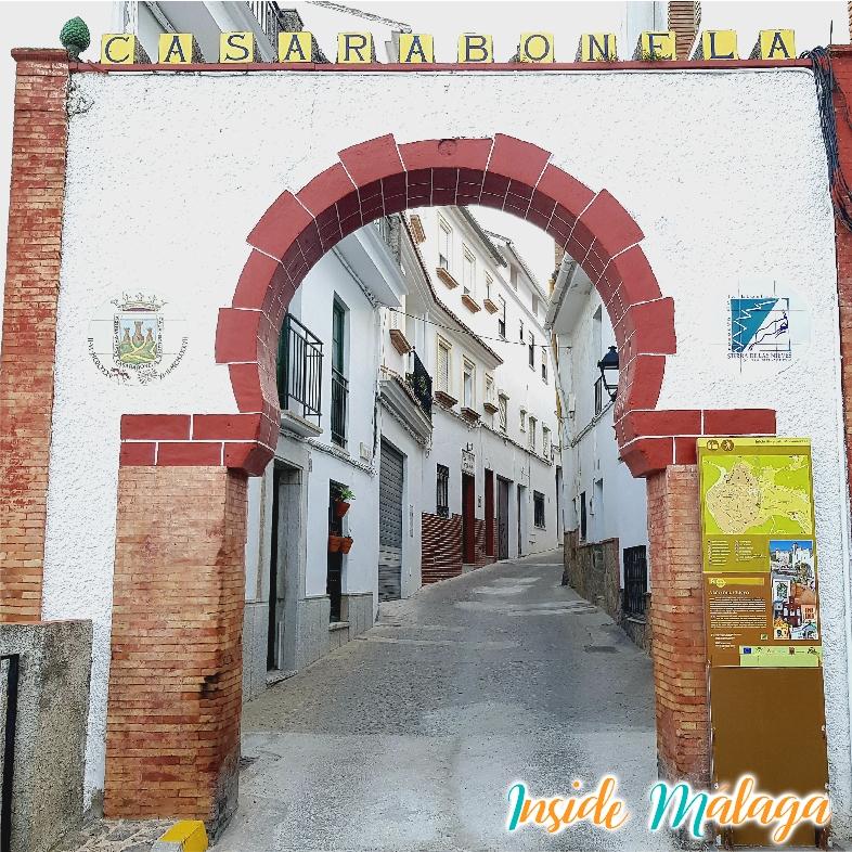 Entrance Arch Fuente del Cristo Casarabonela