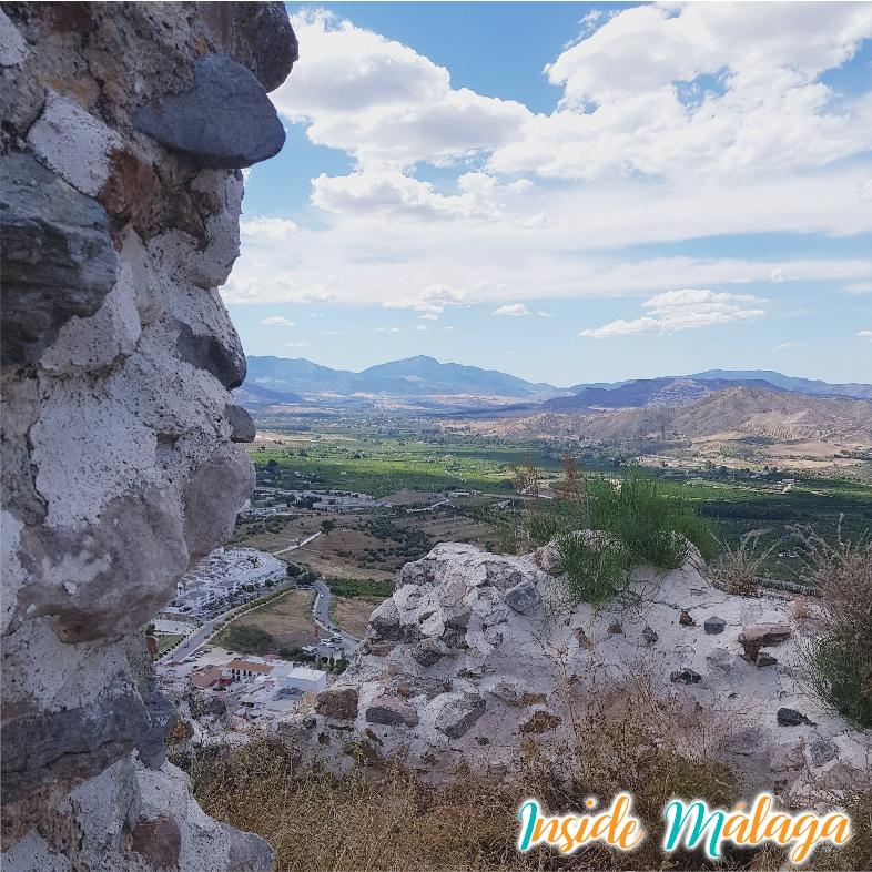 Vista desde Castillo de Cartama Malaga
