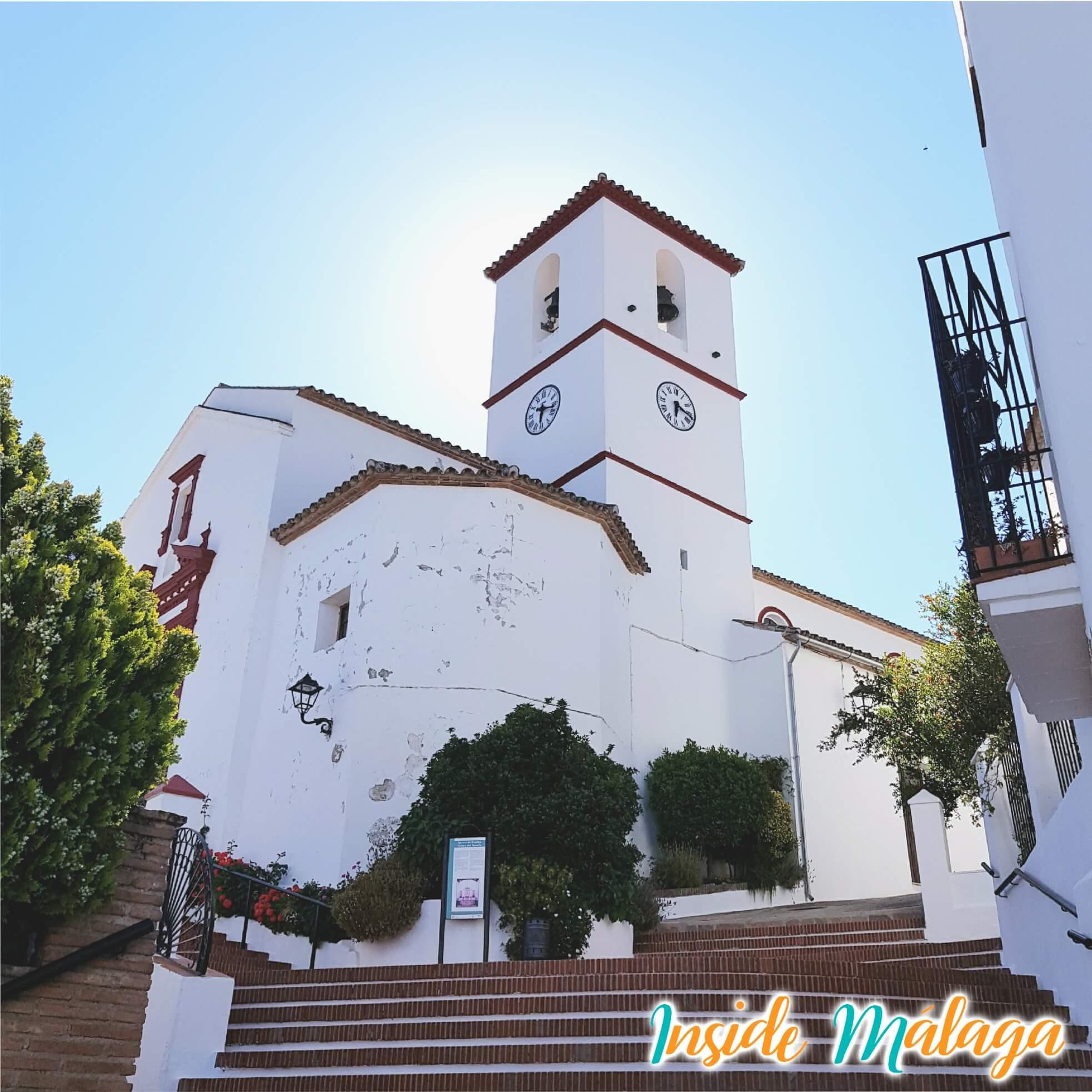 Church Nuestra Señora del Rosario Cartajima Malaga