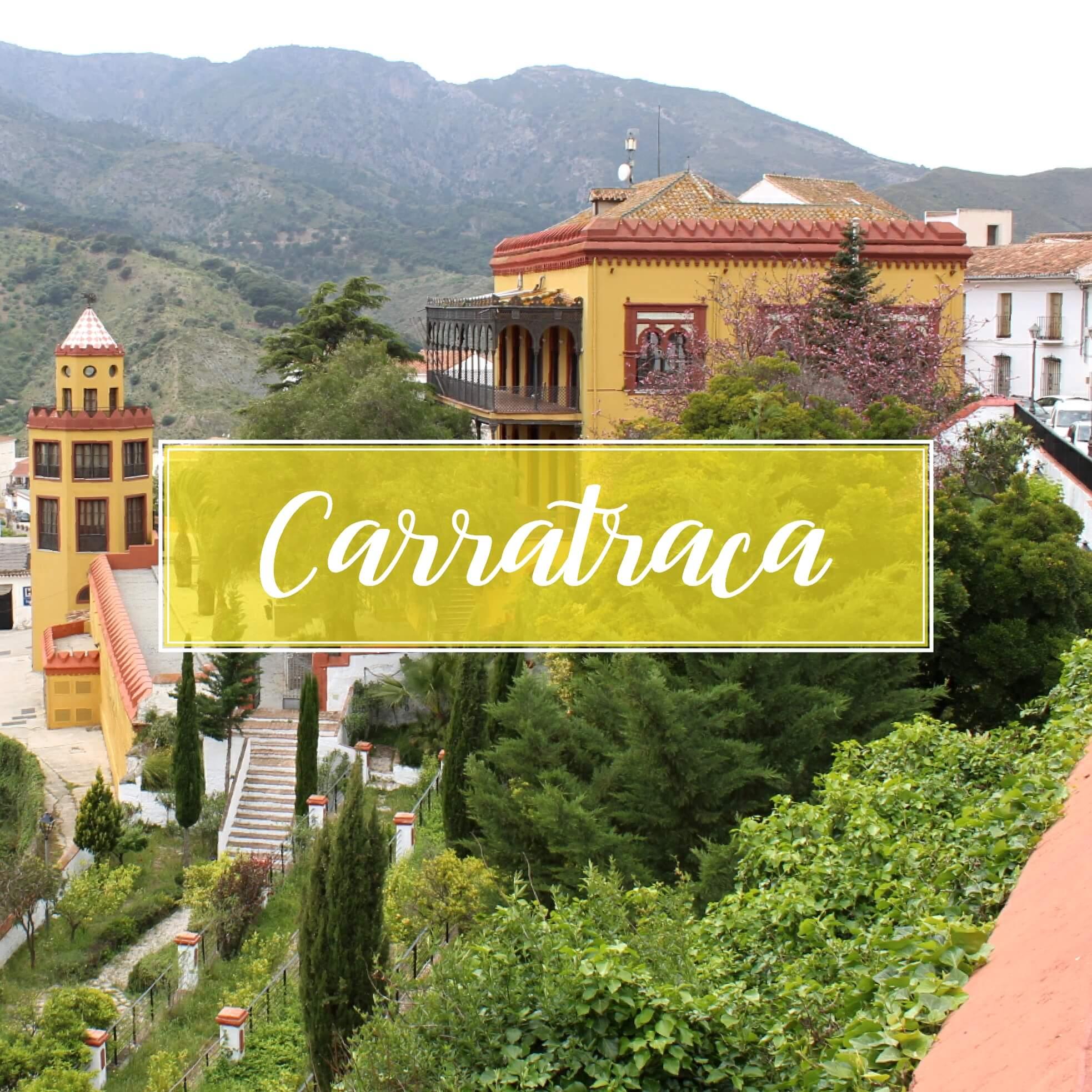 Carratraca Pueblo Malaga