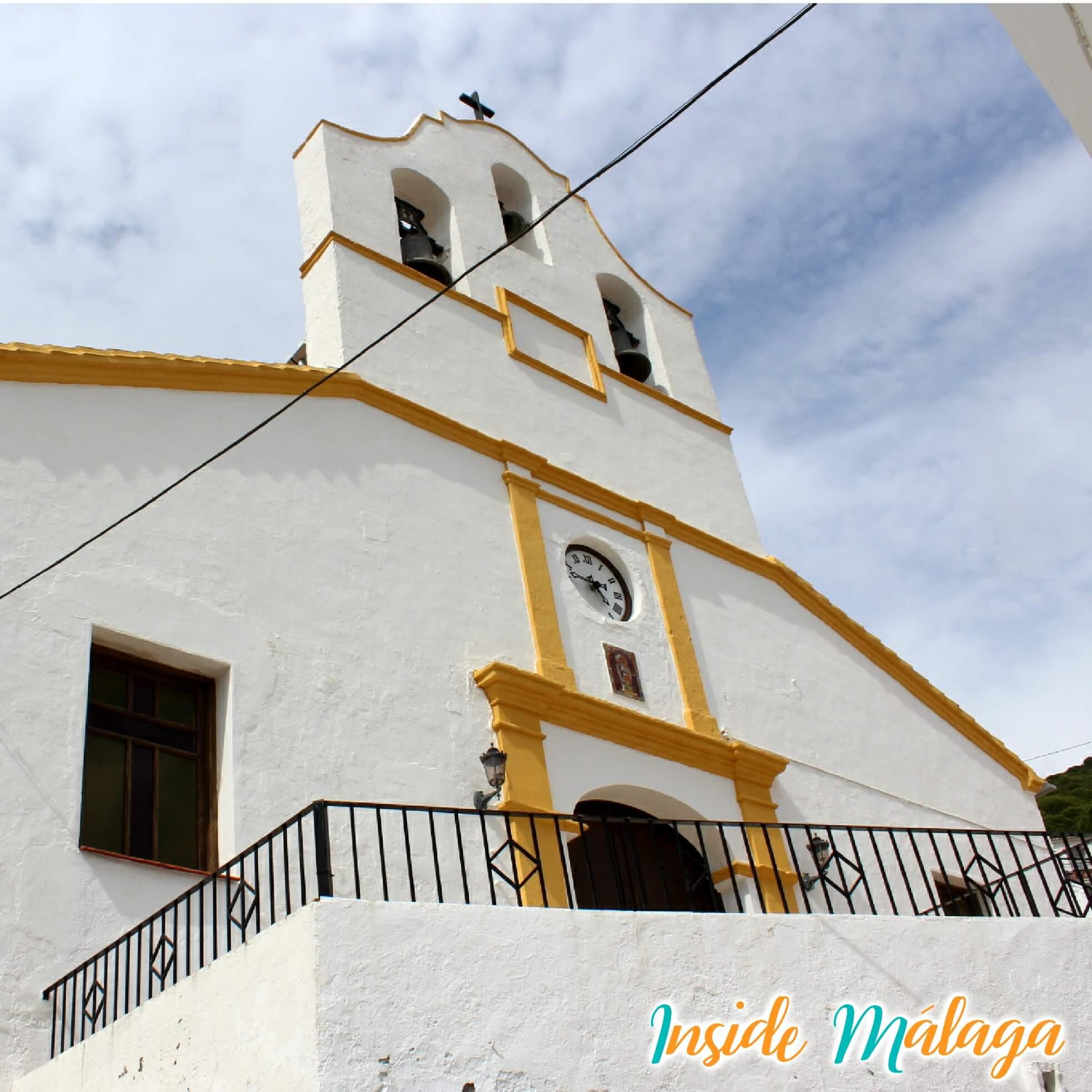 La iglesia parroquial de Nuestra Señora de la SaludCarratraca