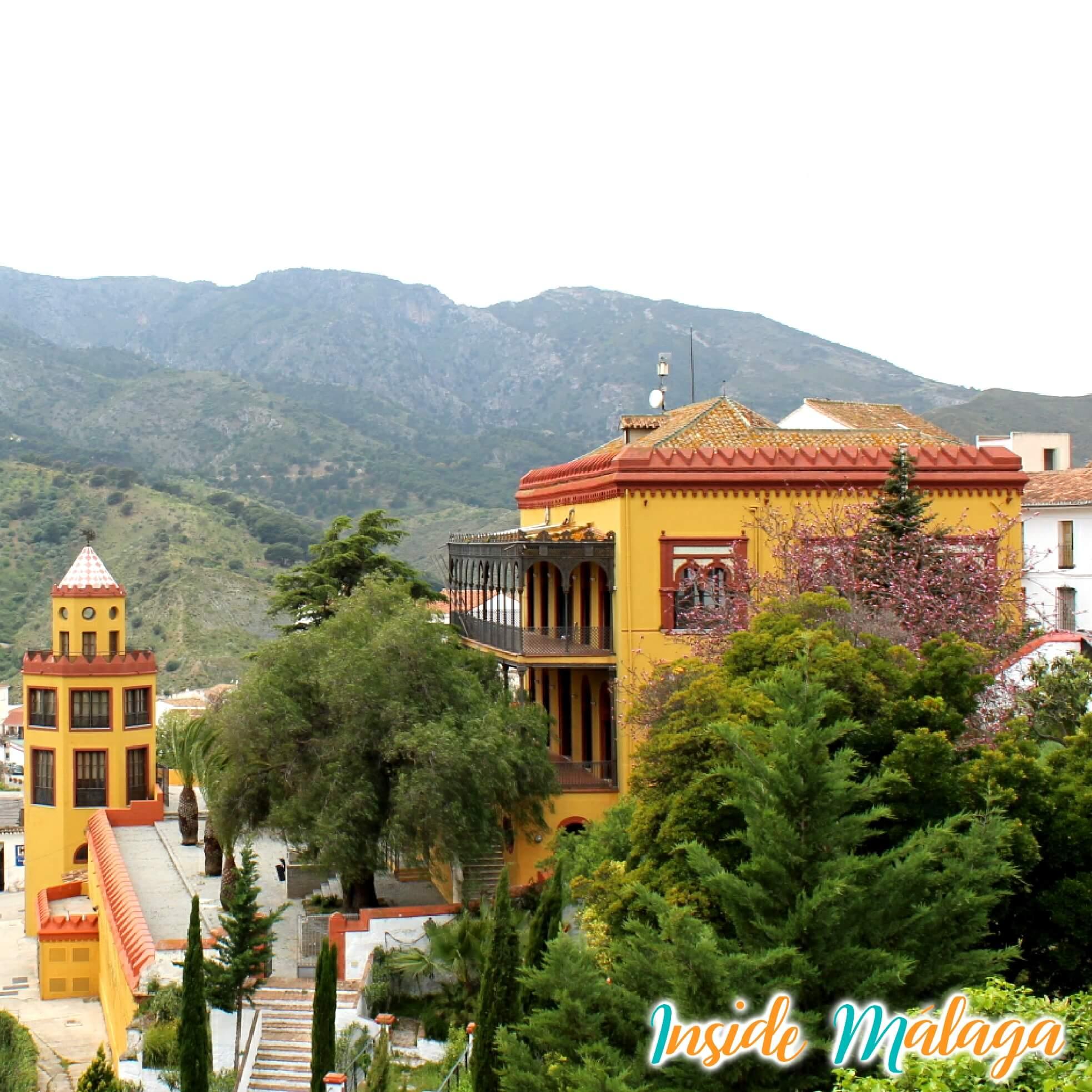 Palacio Trinidad Grund Ayuntamiento Carratraca Malaga