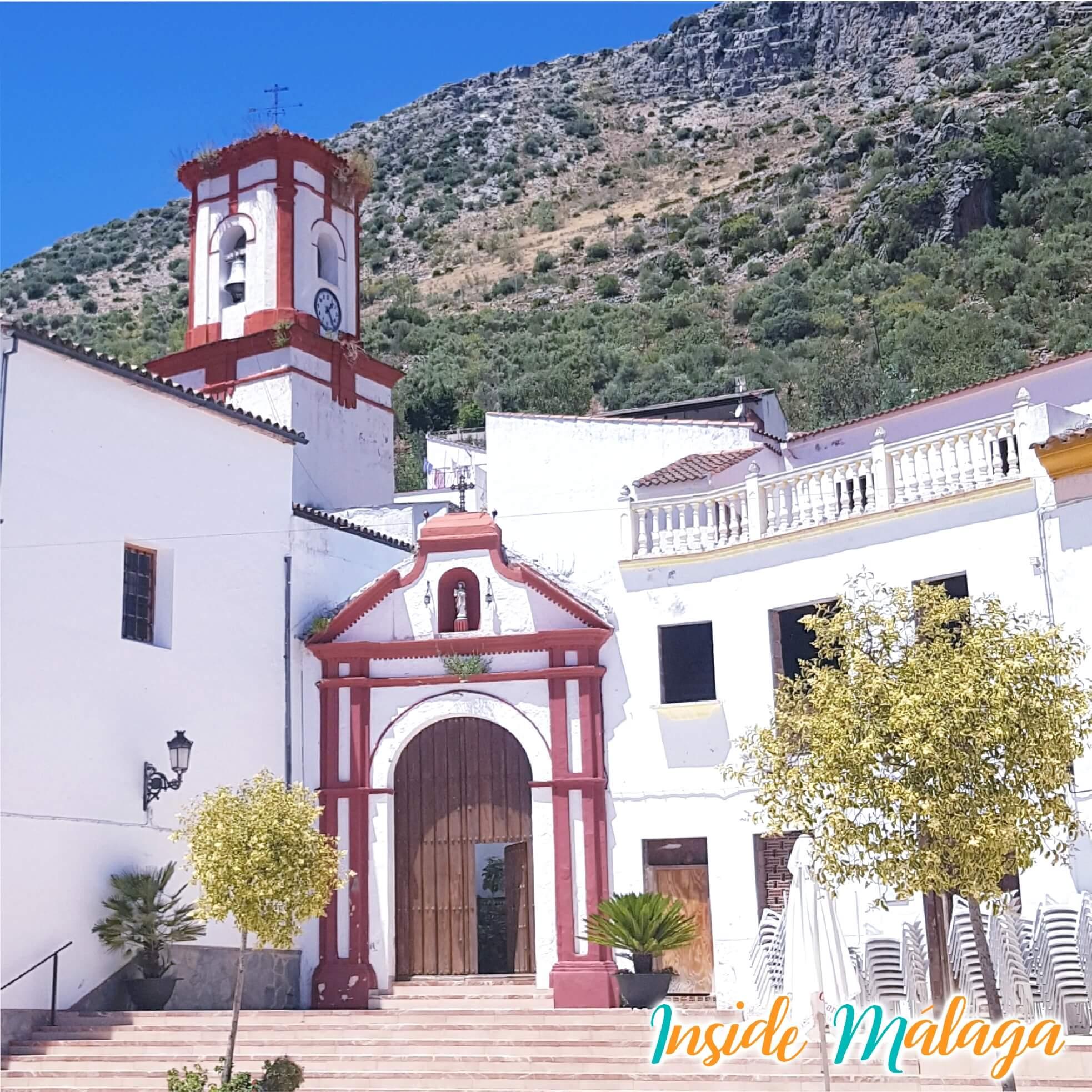 Kerk Nuestra Señora del Rosario Benaojan Malaga