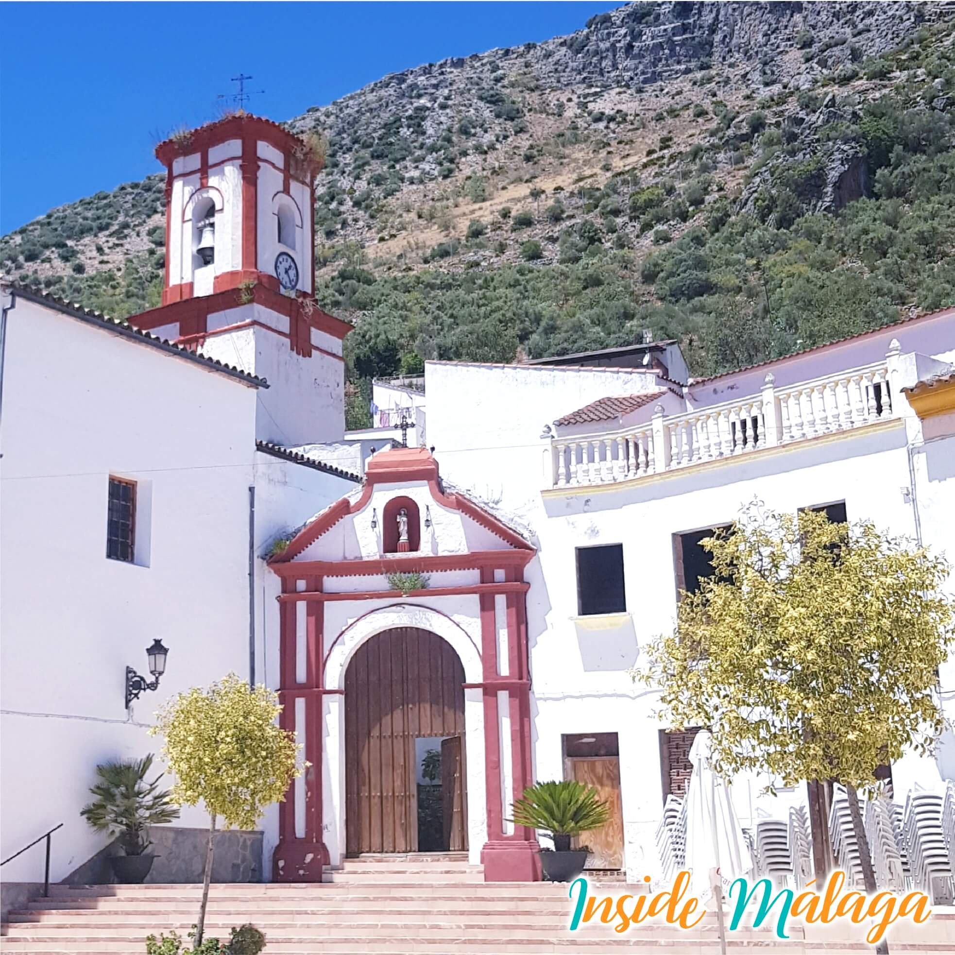 Church Nuestra Señora del Rosario Benaojan Malaga