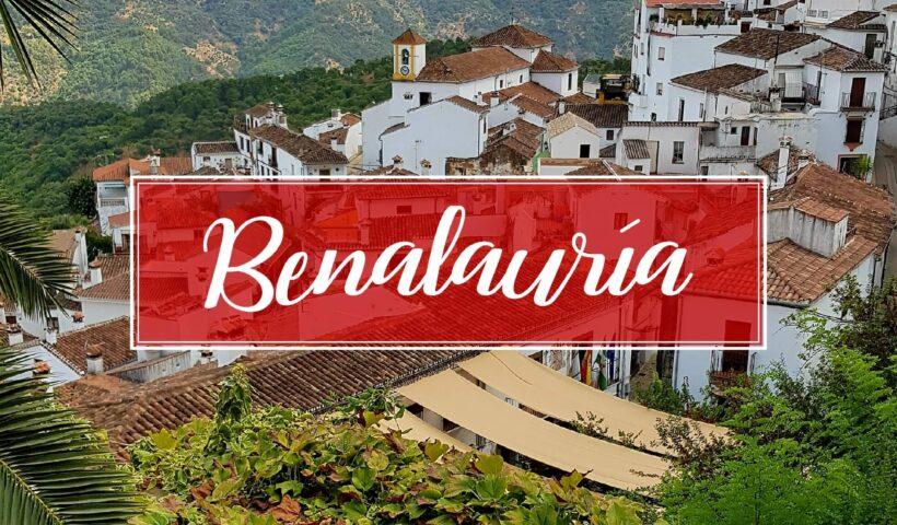Benalauria Town Village Malaga