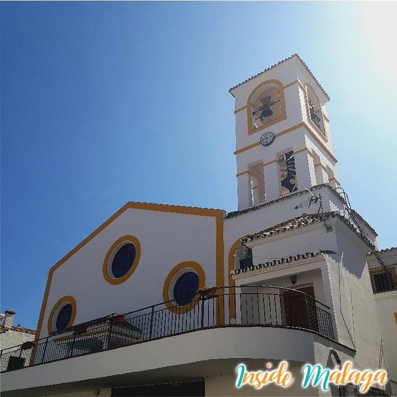 Iglesia Virgen del Rosario Benahavis Malaga