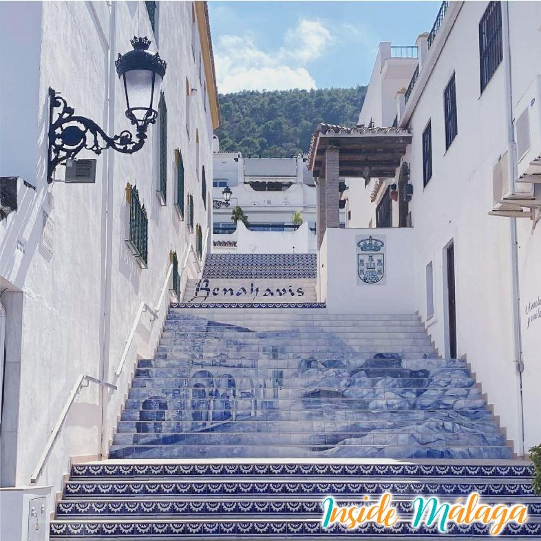 Staircase La Subida Benahavis Malaga