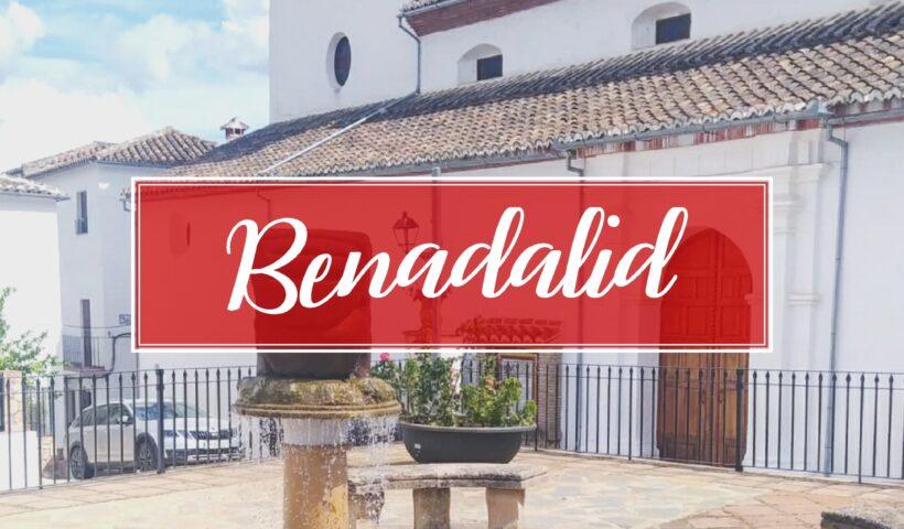 Benadalid Village Town Malaga