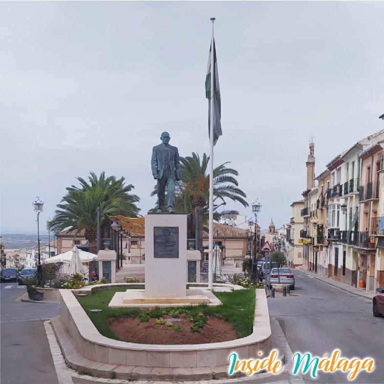 Monument Blas Infante Archidona Malaga
