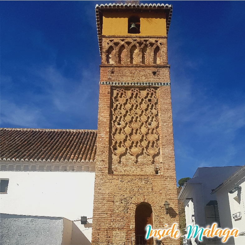 Tower Alminar of the Church of la Encarnación Archez Malaga
