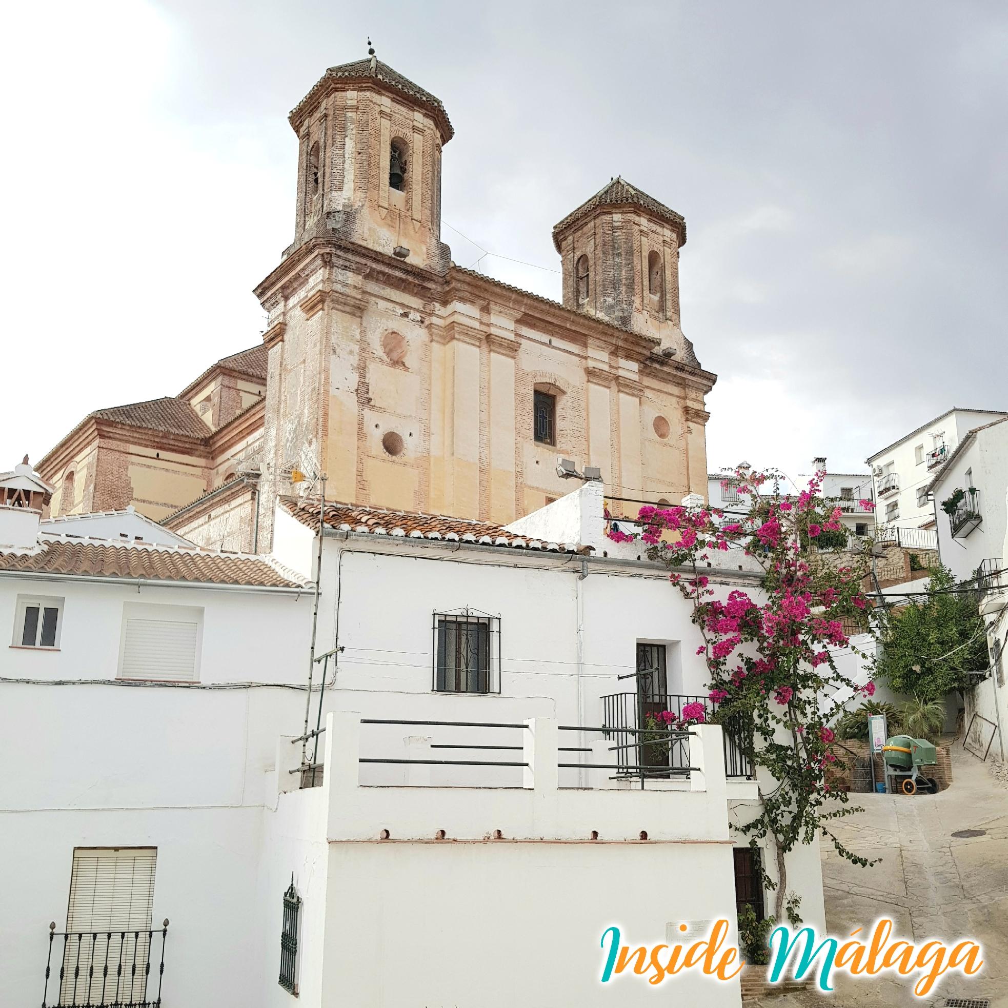 Iglesia de San Antonio de Padua Alpandeire Malaga