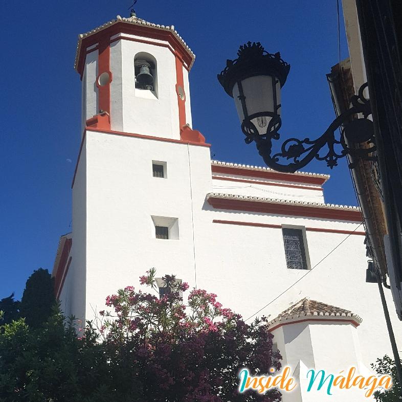 Church Santa Ana Alozaina Malaga