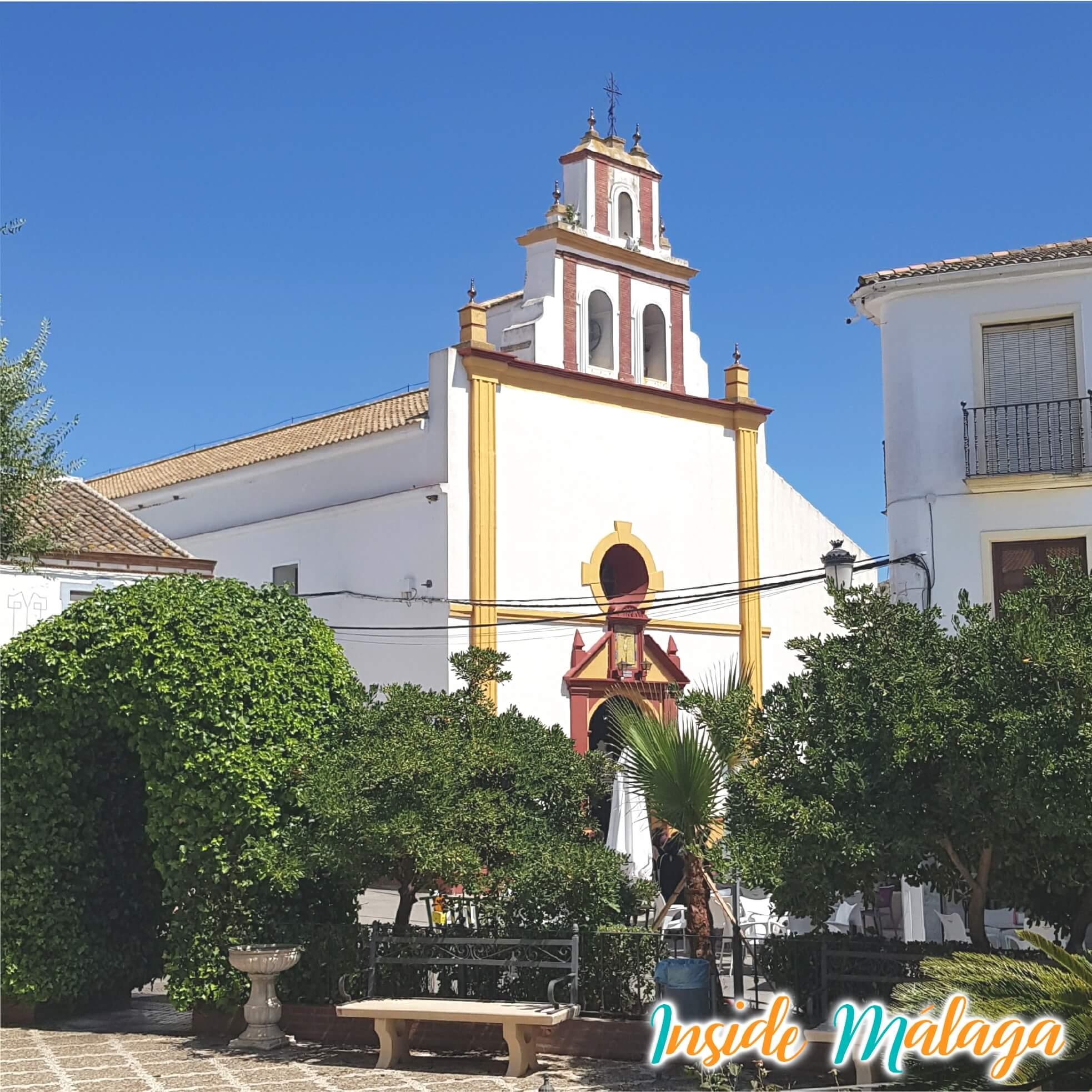 Kerk Inmaculada Concepción Almargen Malaga
