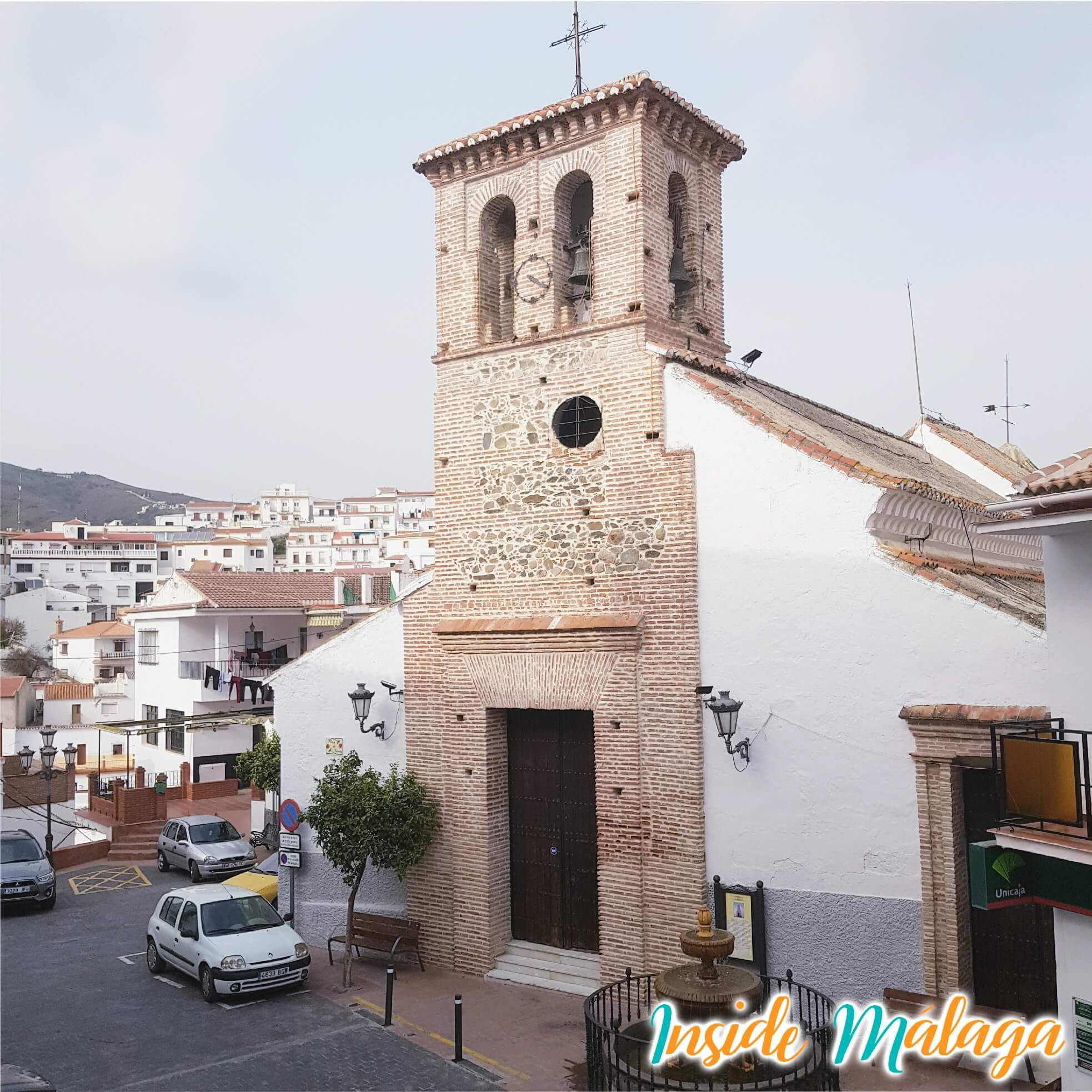 Kerk San Marcos Almachar Malaga