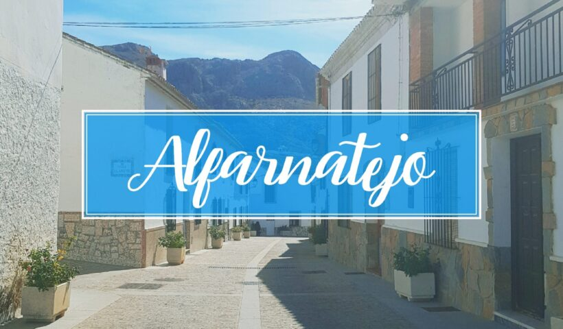Alfarnatejo Town Village Malaga
