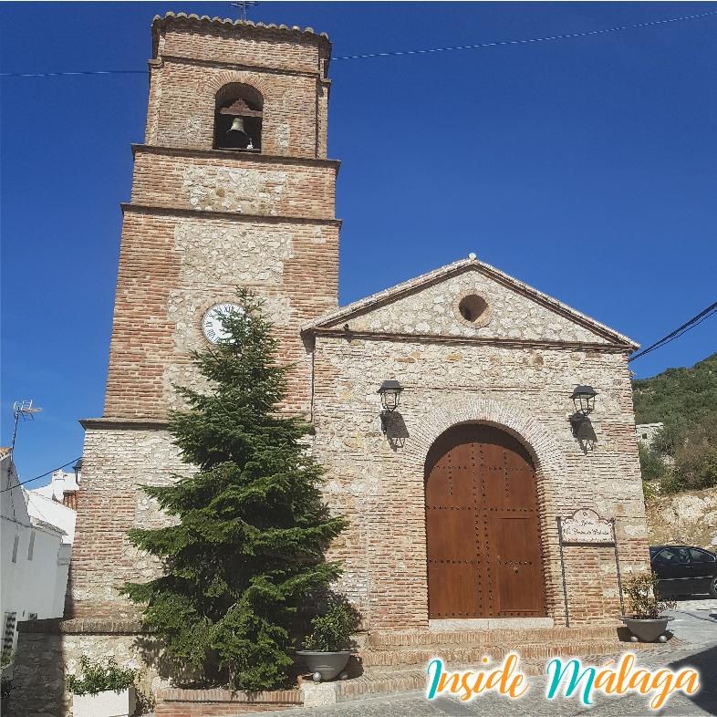 Church Santo Cristo de Cabrilla Alfarnatejo Malaga
