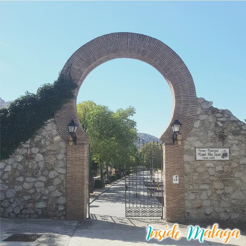 Park Miguel Alba Luque Alfarnatejo Malaga